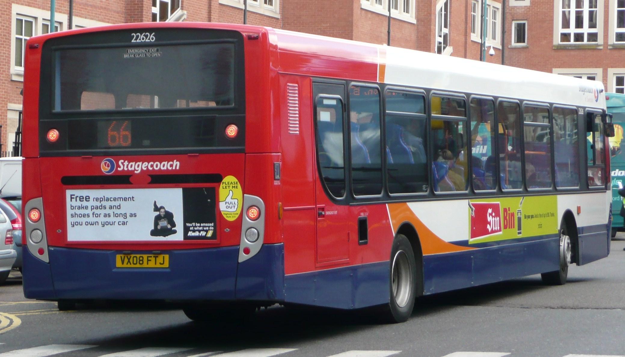 File Stagecoach Swindon 22626 Rear Jpg Wikimedia Commons