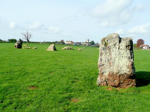 Stanton Drew standing stones - geograph.org.uk - 1278940