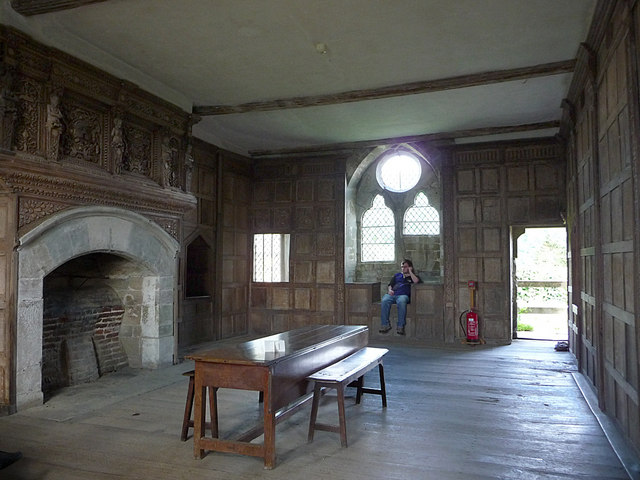 Stokesay Castle, interior - geograph.org.uk - 1507232