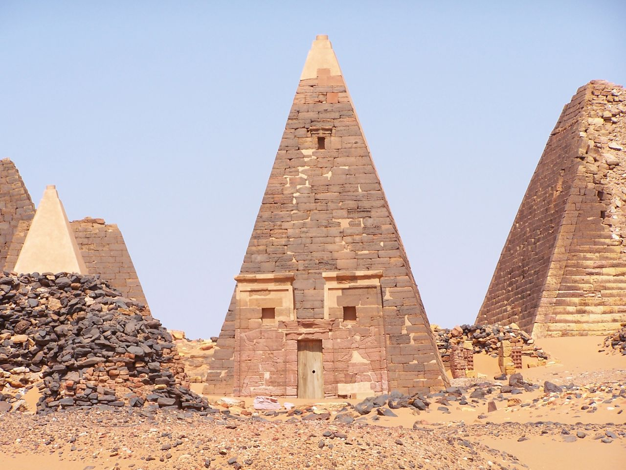 What the great pyramid originally looked like