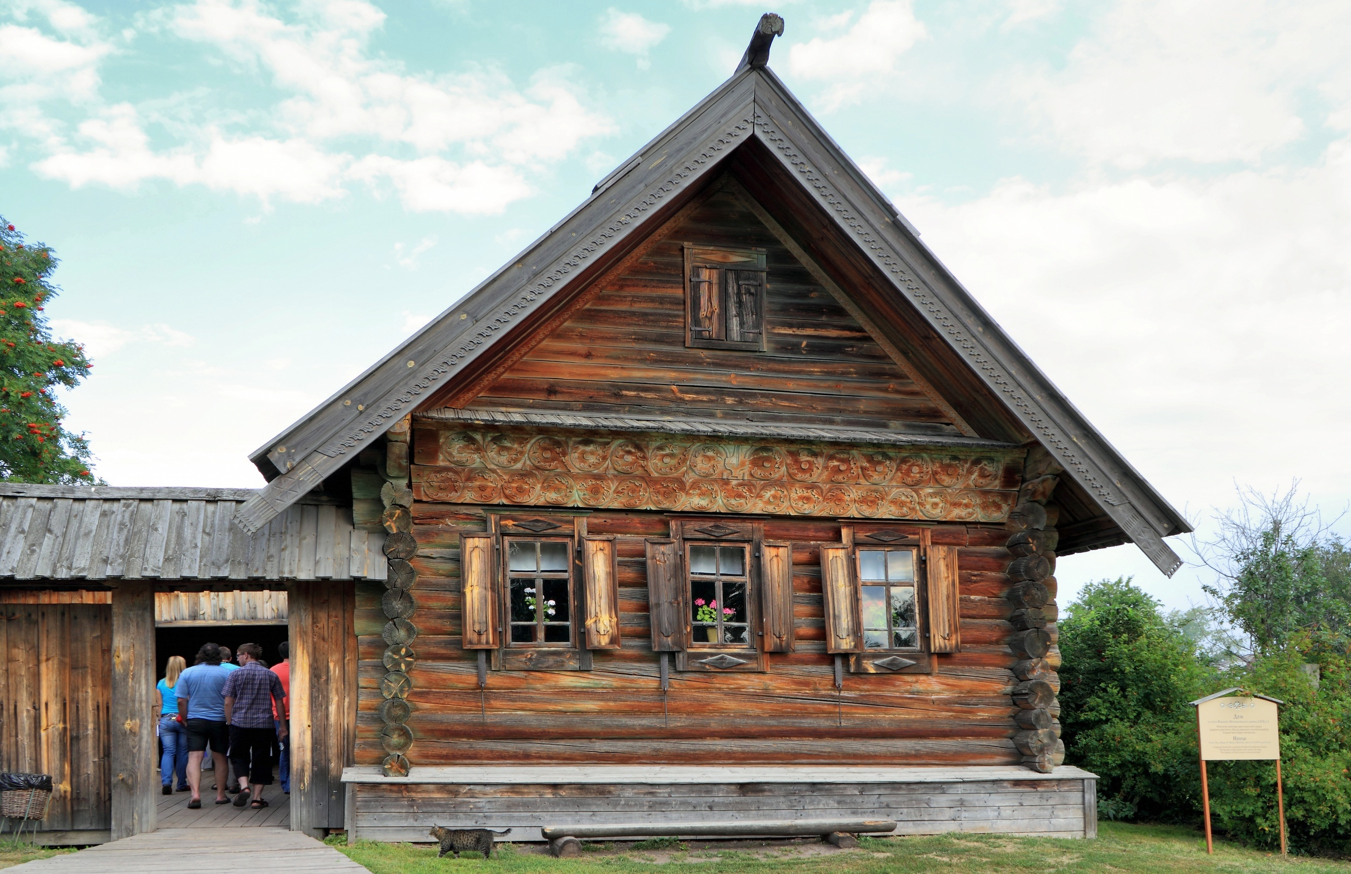 Suzdal - Museum of Wooden Architecture or the Ghost of the Dmitrievsky Pechora Monastery 69