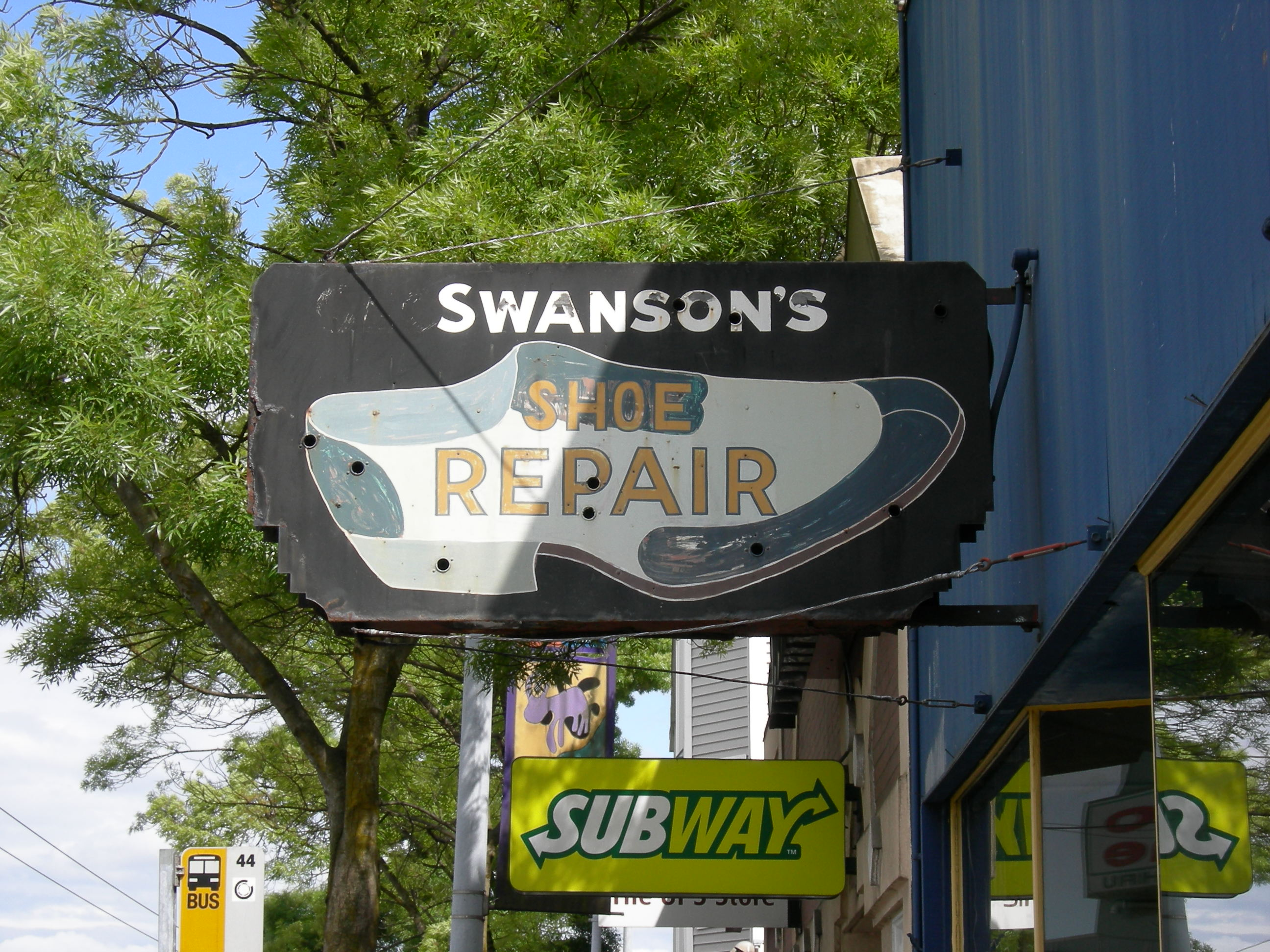 Swanson Shoe Repair Seattle