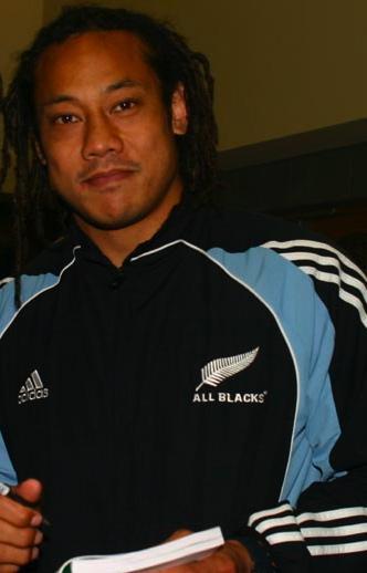Jonah Lomu New Zealand Long Sleeve T-shirt Haka Rugby