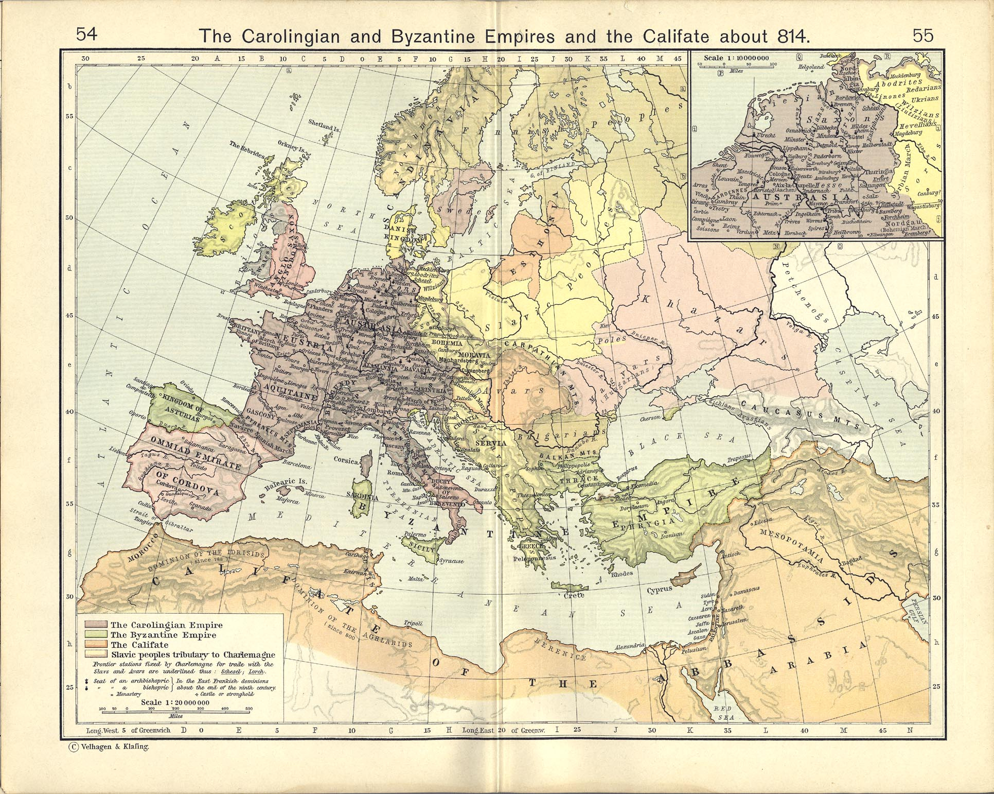 FileThe Carolingian And Byzantine Empires And The Califate About - Ancient rome map byzantium