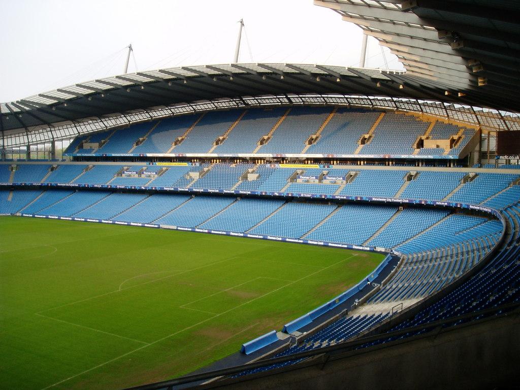 Fotbalový stadion, Etihad Stadium v Manchestru