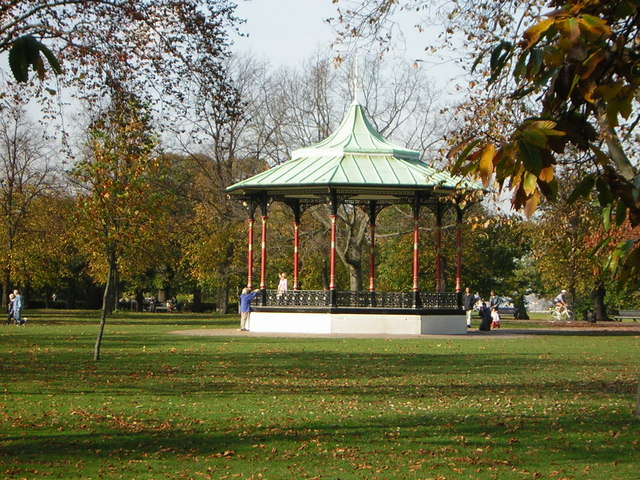 The bandstand in Greenwich Park - geograph.org.uk - 1326556