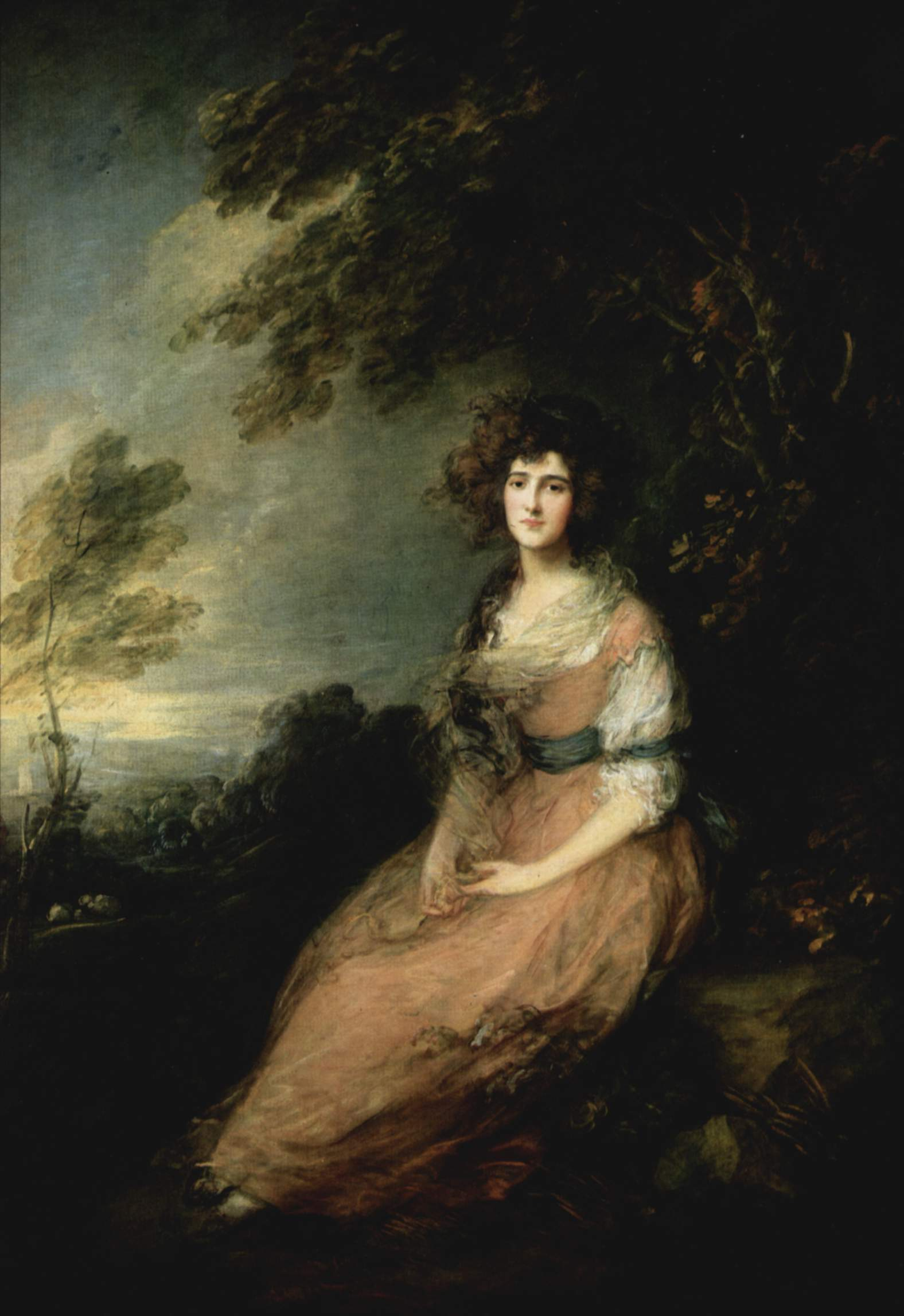 Mrs. Richard Brinsley Sheridan - Thomas Gainsborough