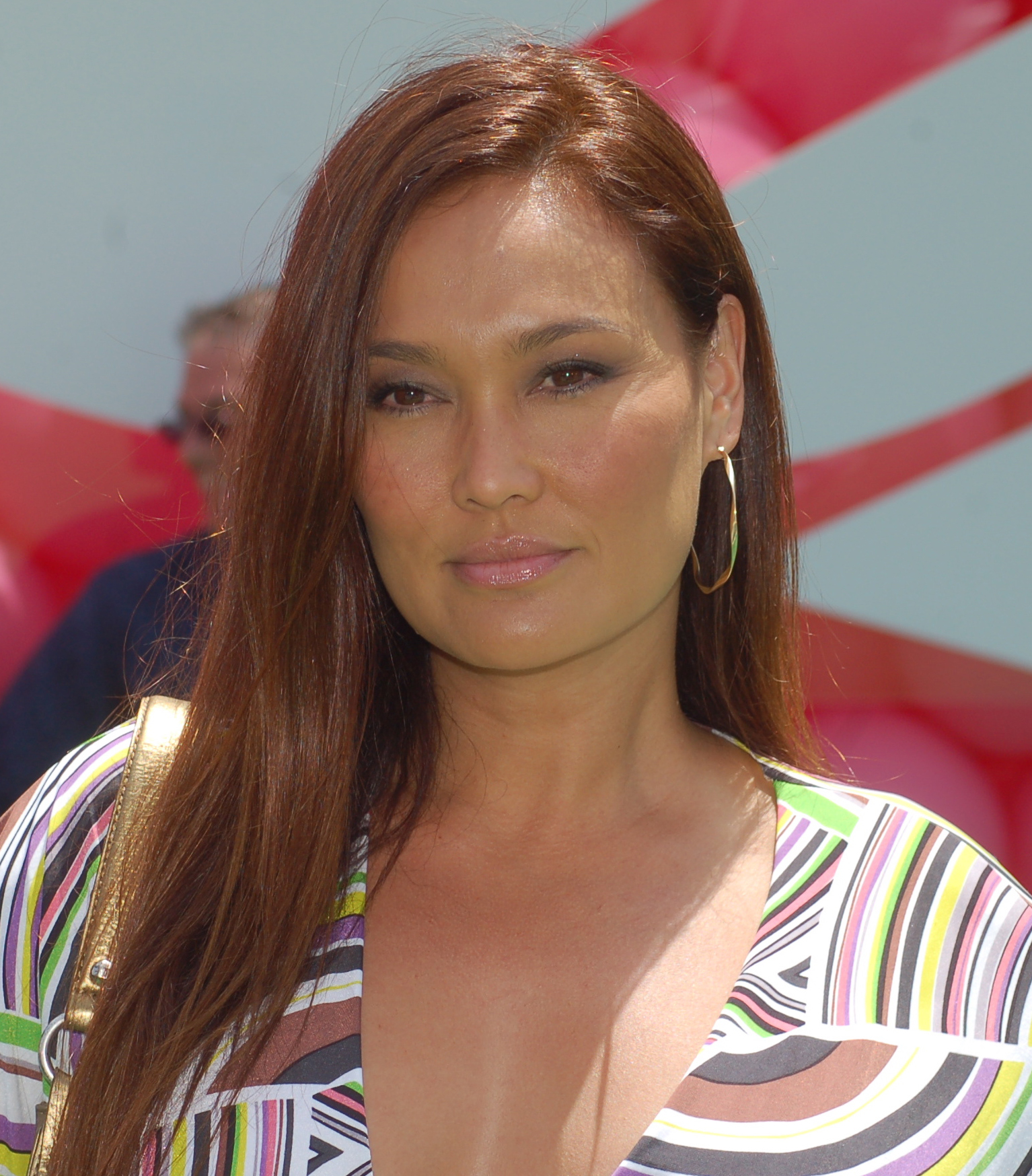 Tia Carrere earned a  million dollar salary, leaving the net worth at 3 million in 2017