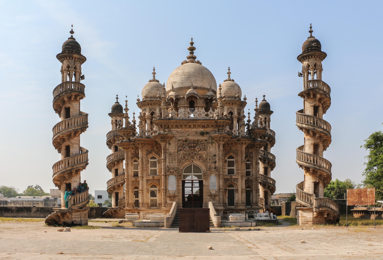 Junagadh India  city pictures gallery : Tomb of Baharuddin Junagadh Gujarat India