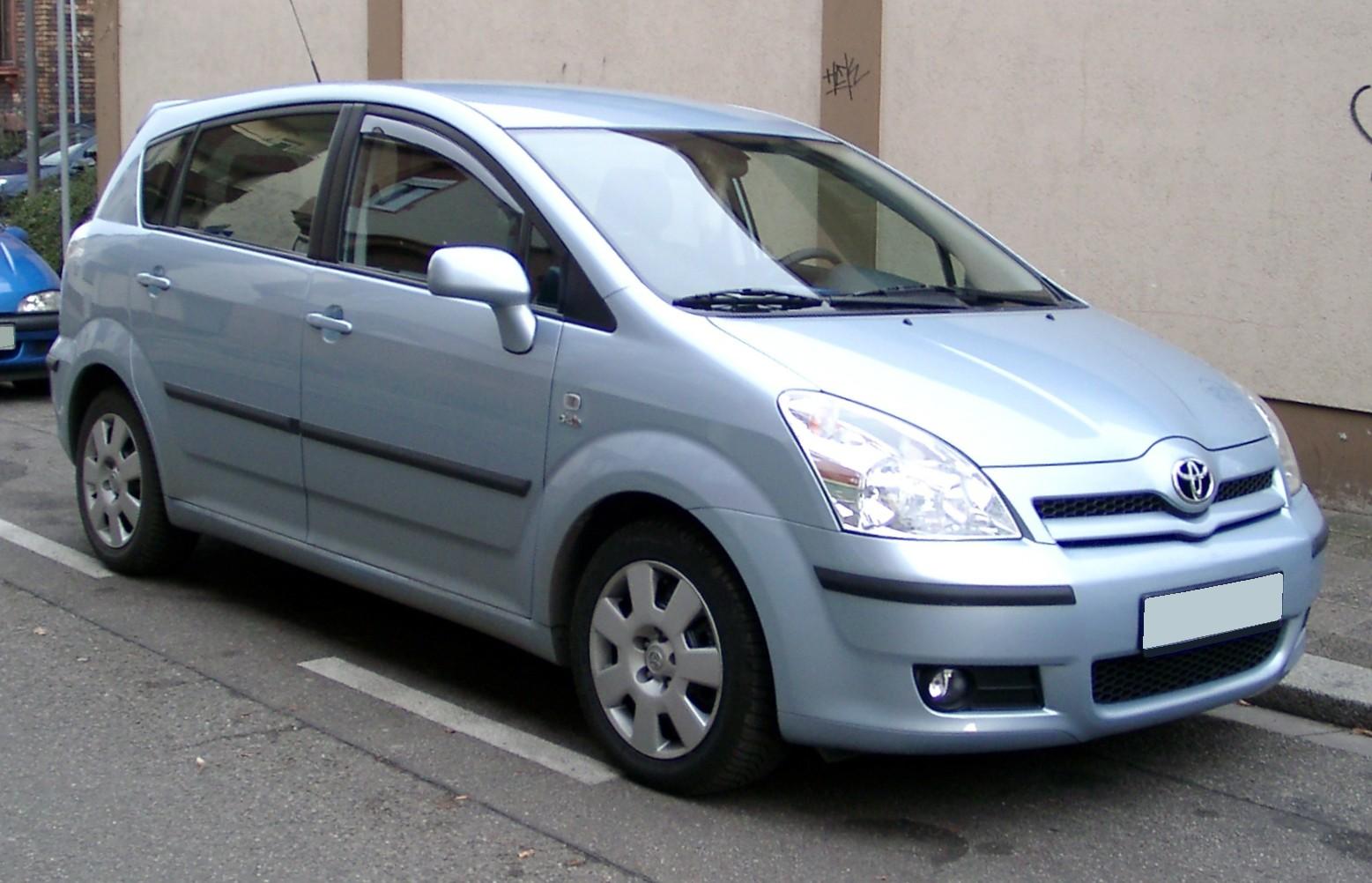 File:Toyota Corolla Verso front 20080115.jpg  Wikimedia Commons