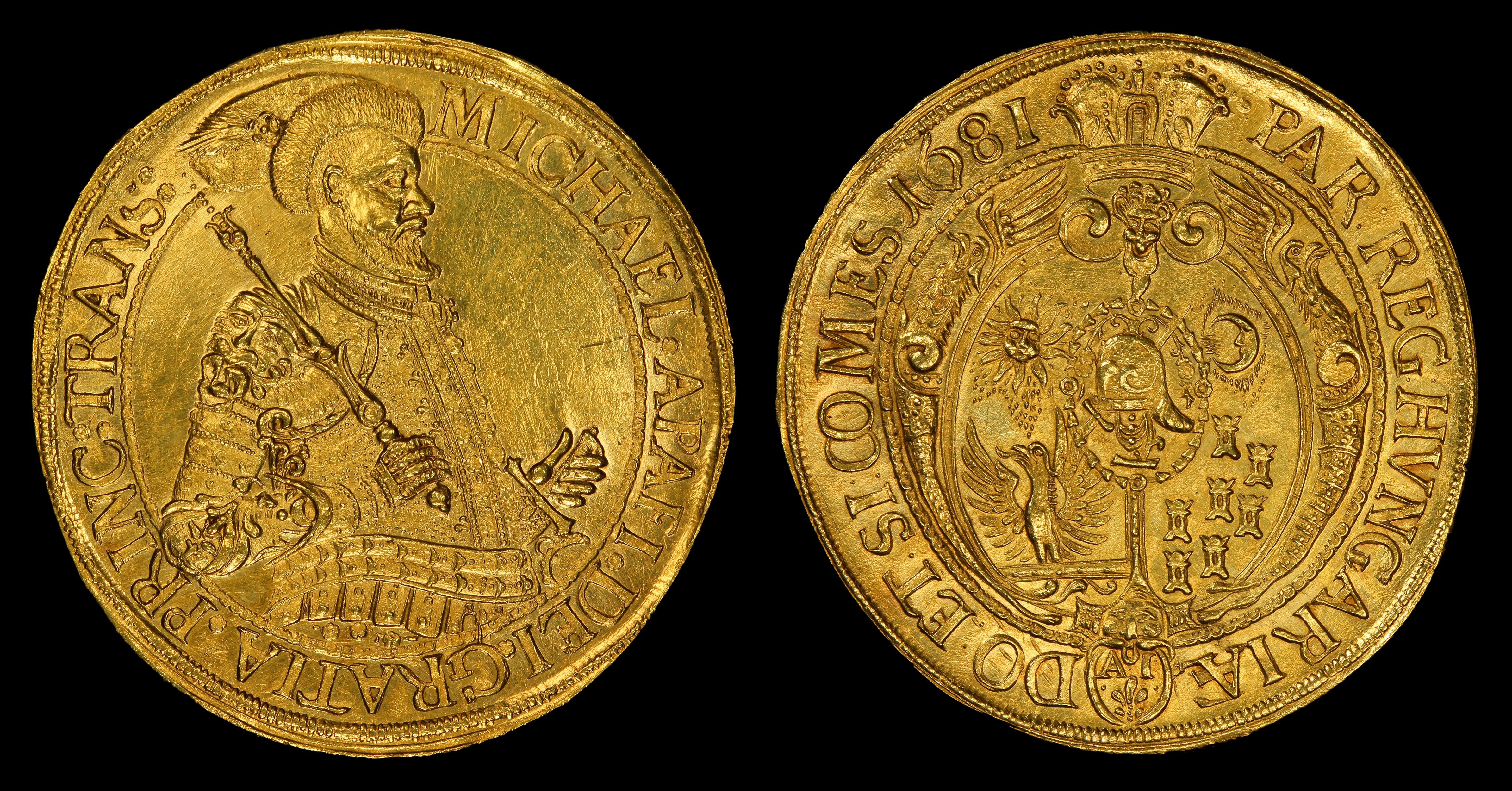 File:Transylvania 1681 25 Ducat gold coin.jpg