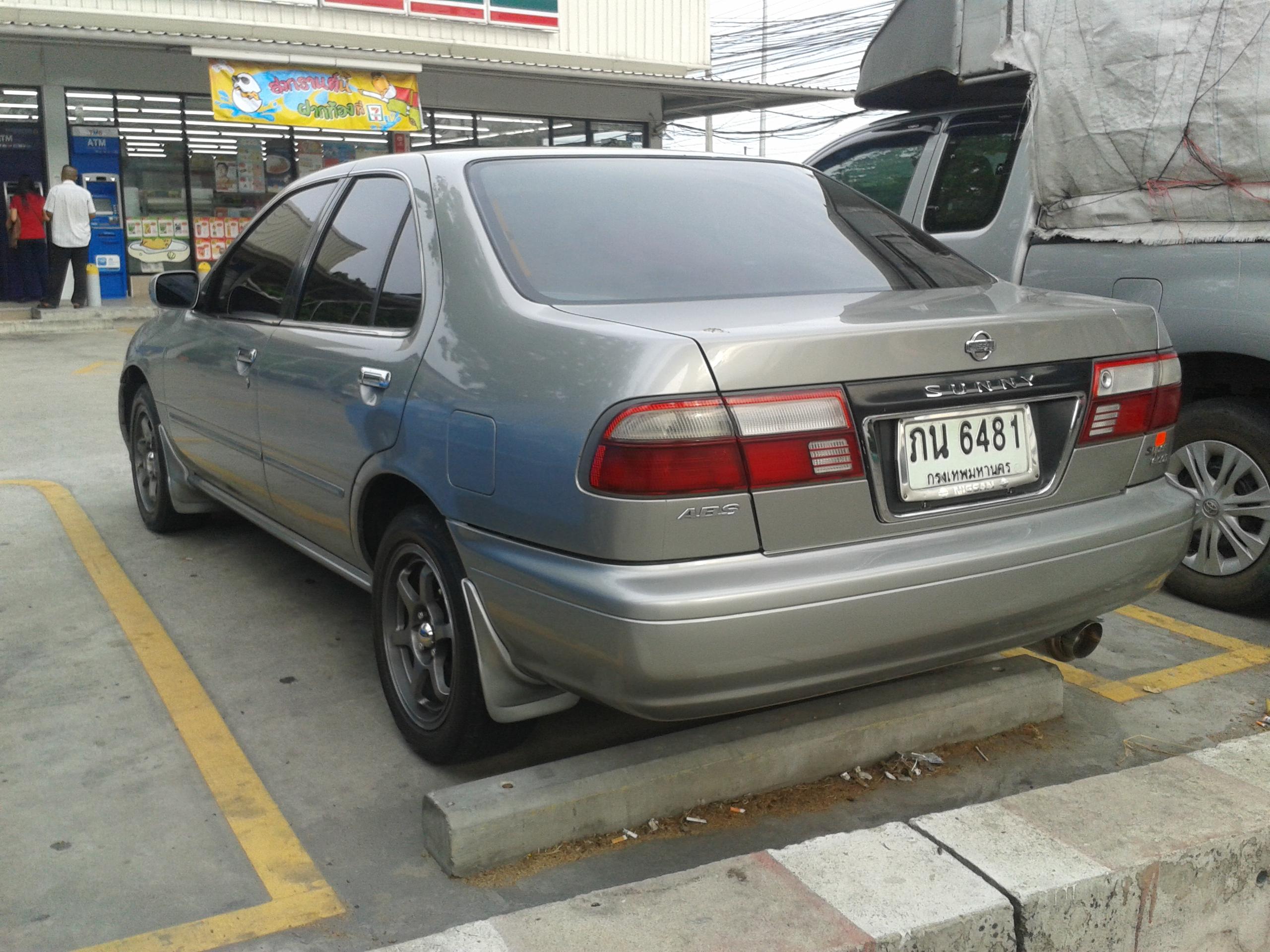 File:Tuned Nissan Sunny (B14) Super Saloon ABS 03 jpg - Wikimedia