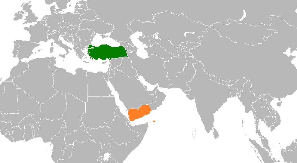 Turkey Yemen Relations Wikipedia