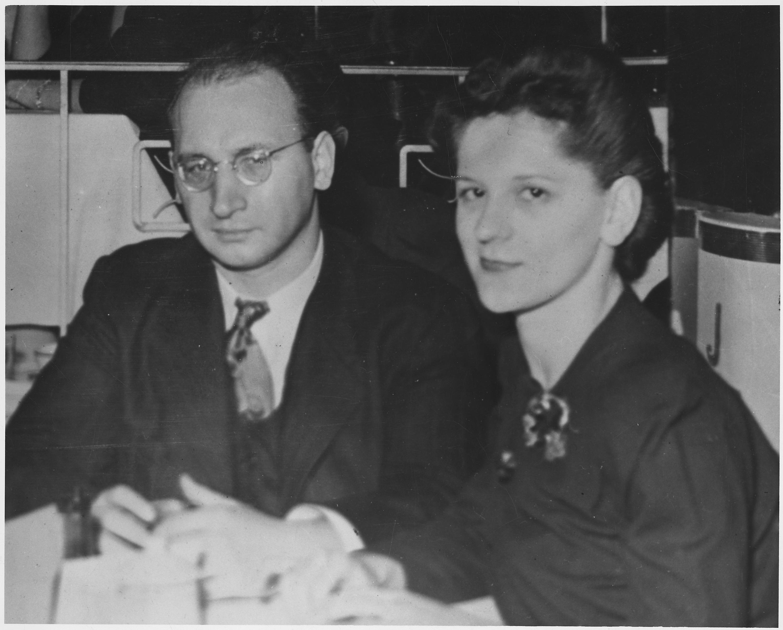 Julius Rosenberg and Ethel Rosenberg