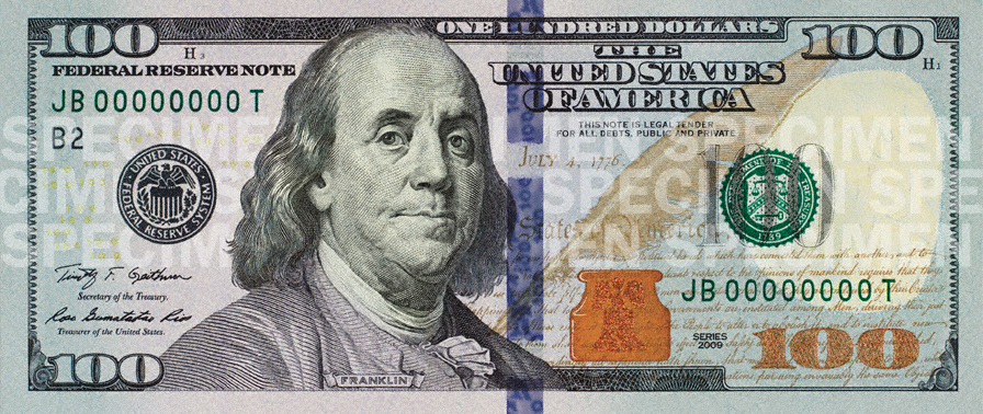 Printable one dollar bill - freeprintable.com