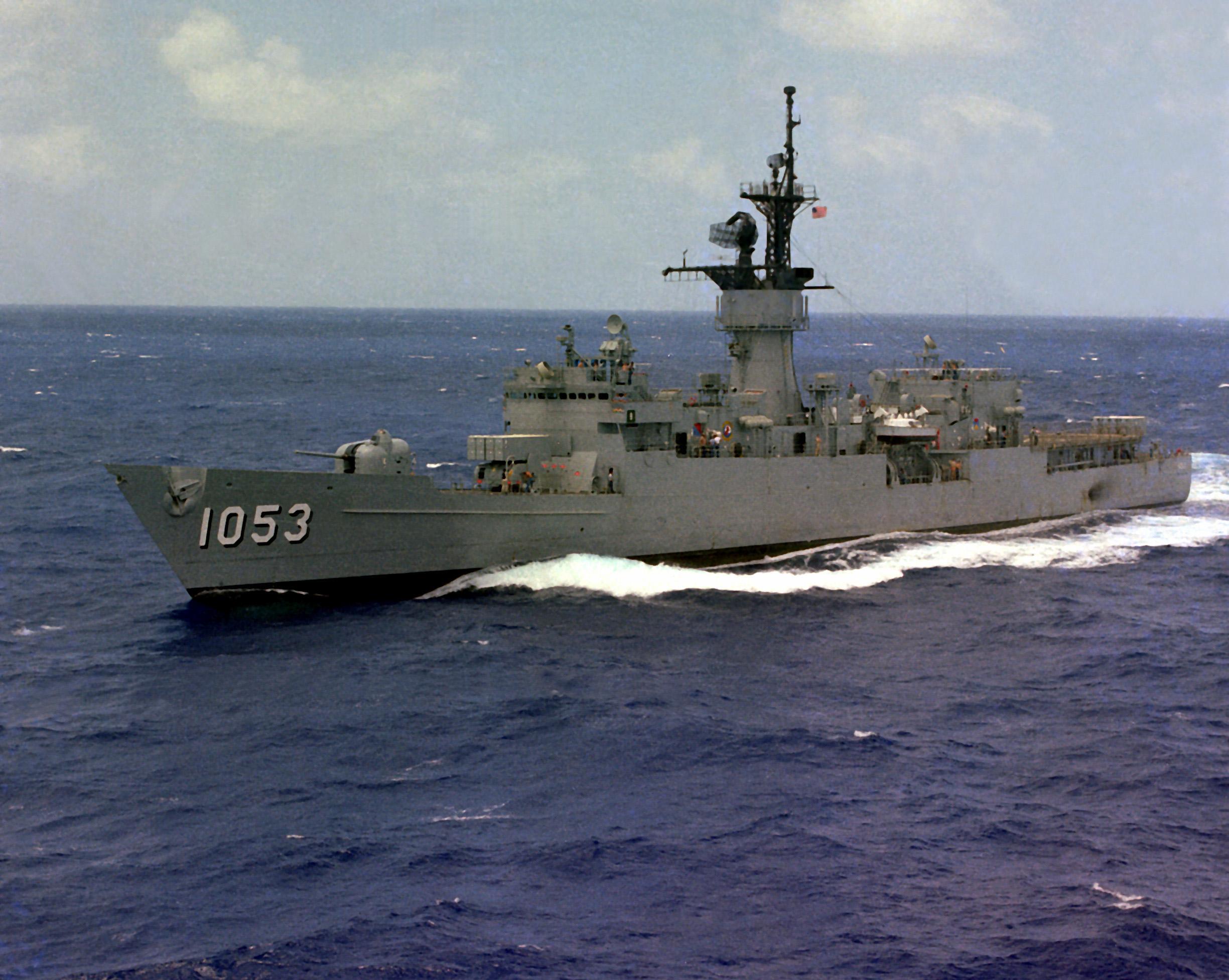 File:USS Roark (FF-1053) off Hawaii.jpg