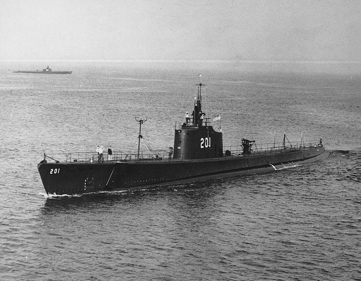 USS Triton (SS-201) - Wikipedia