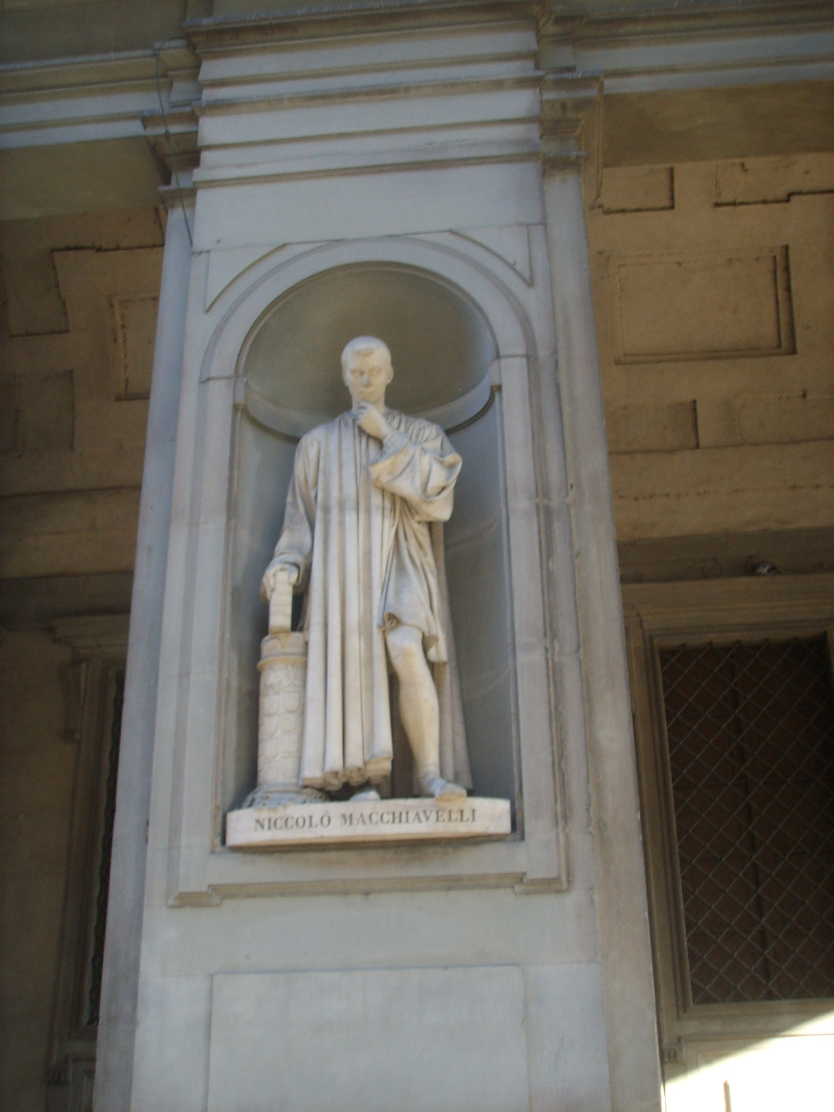 the life of niccolo machiavelli essay Not all of niccolo's early life is know but it has been speculated that he attended the  niccolo machiavelli,  niccolo machiavelli essay.