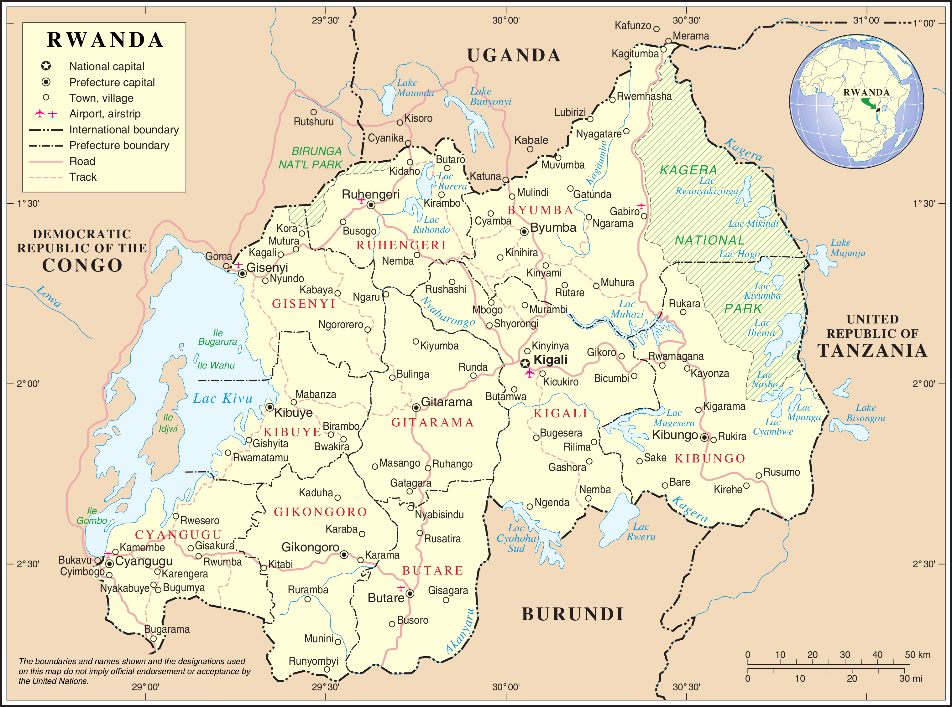 Image of: Geography Of Rwanda Wikipedia