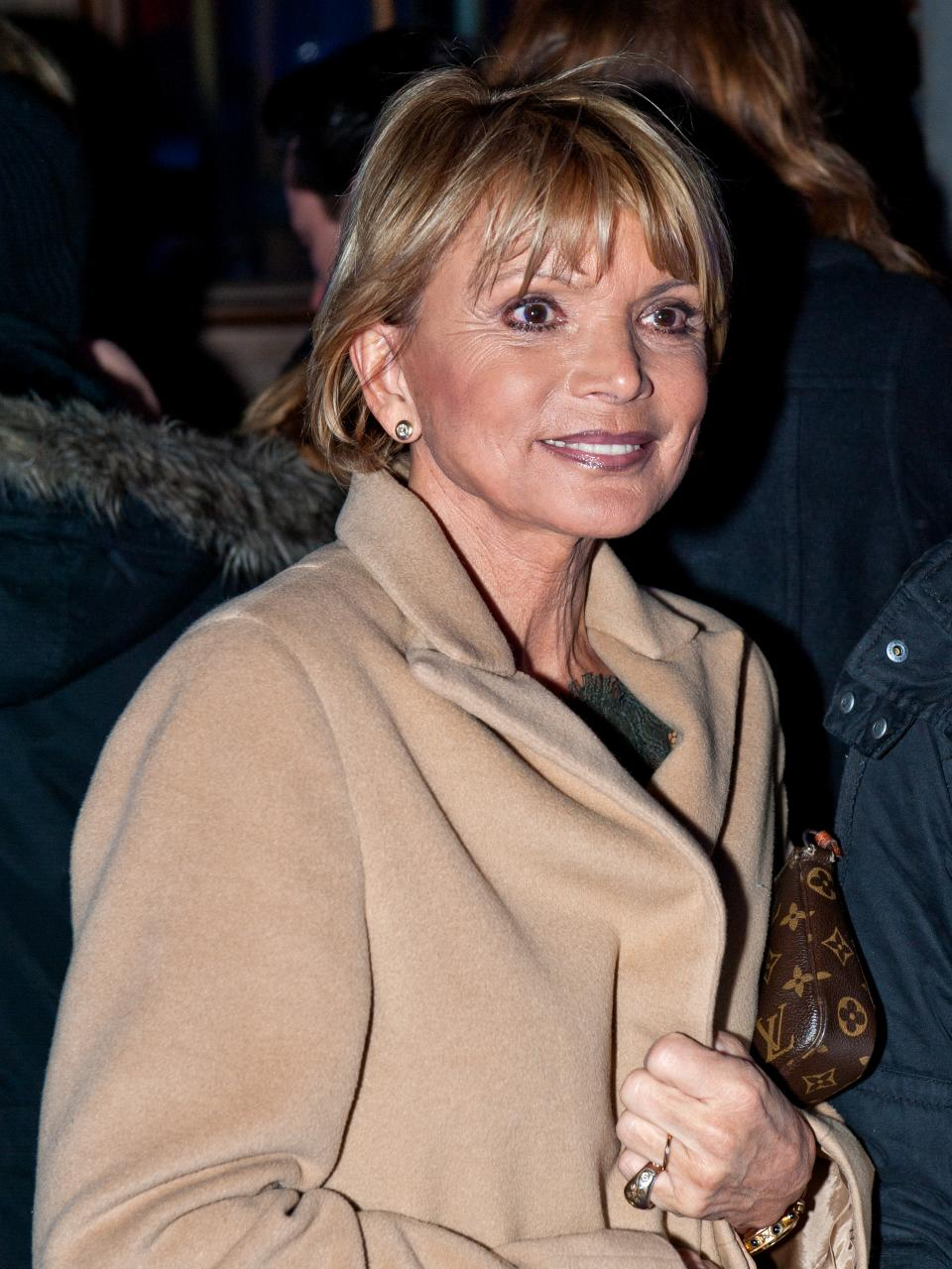 The 74-year old daughter of father (?) and mother(?) Uschi Glas in 2018 photo. Uschi Glas earned a  million dollar salary - leaving the net worth at 5 million in 2018