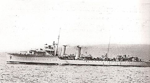 Destroyer Vouga