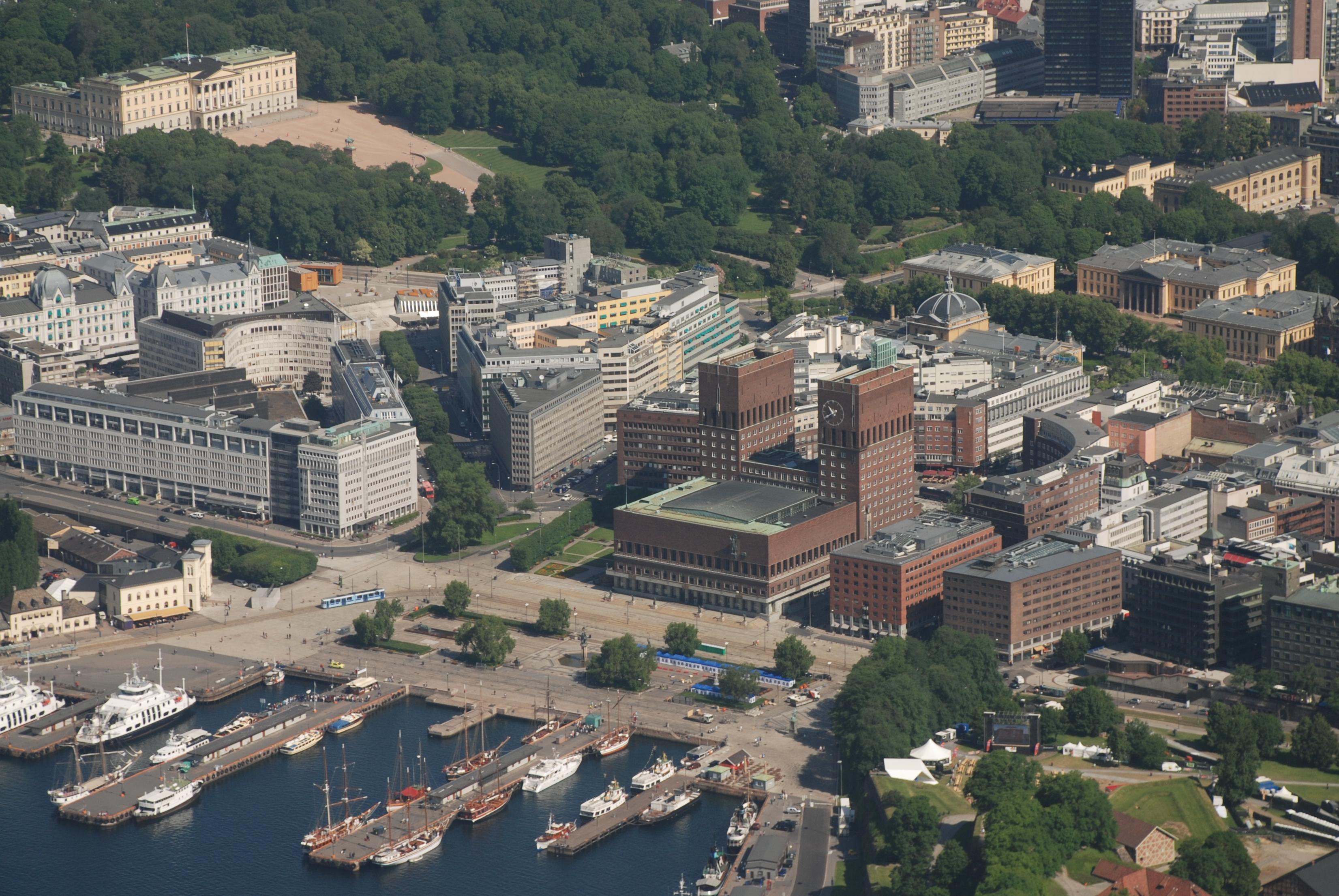تفصیل Vika, Oslo. from air.jpg