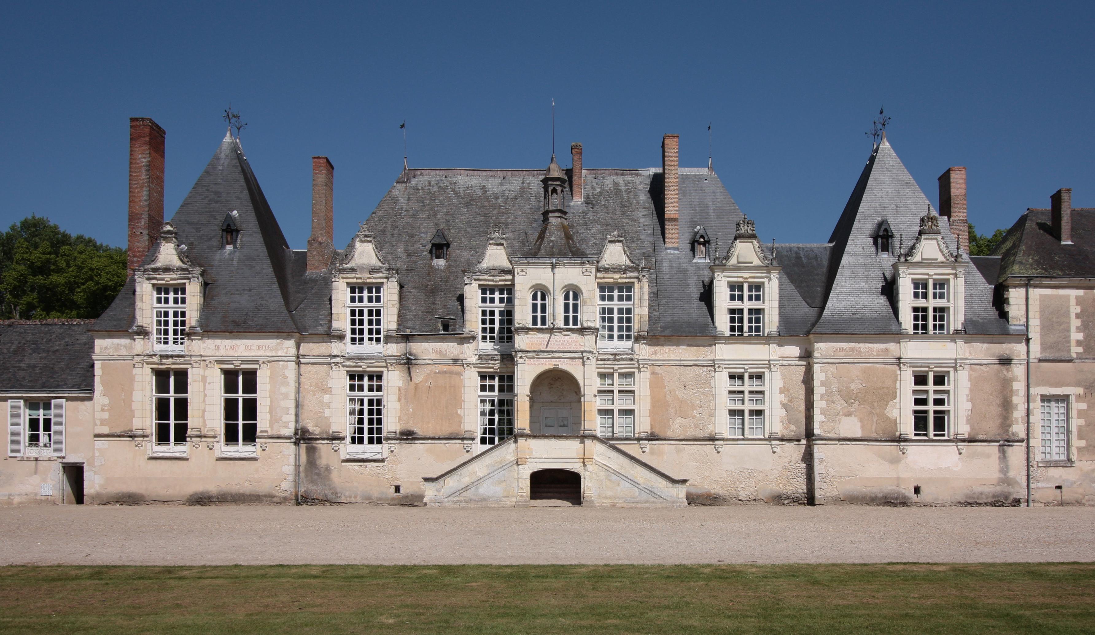 Villesavin ch teaux de la loire - Les plus beaux jardins des chateaux de la loire ...