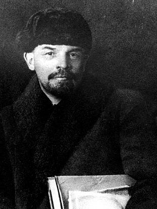 Vladimir Lenin attending the 8th Party Congress