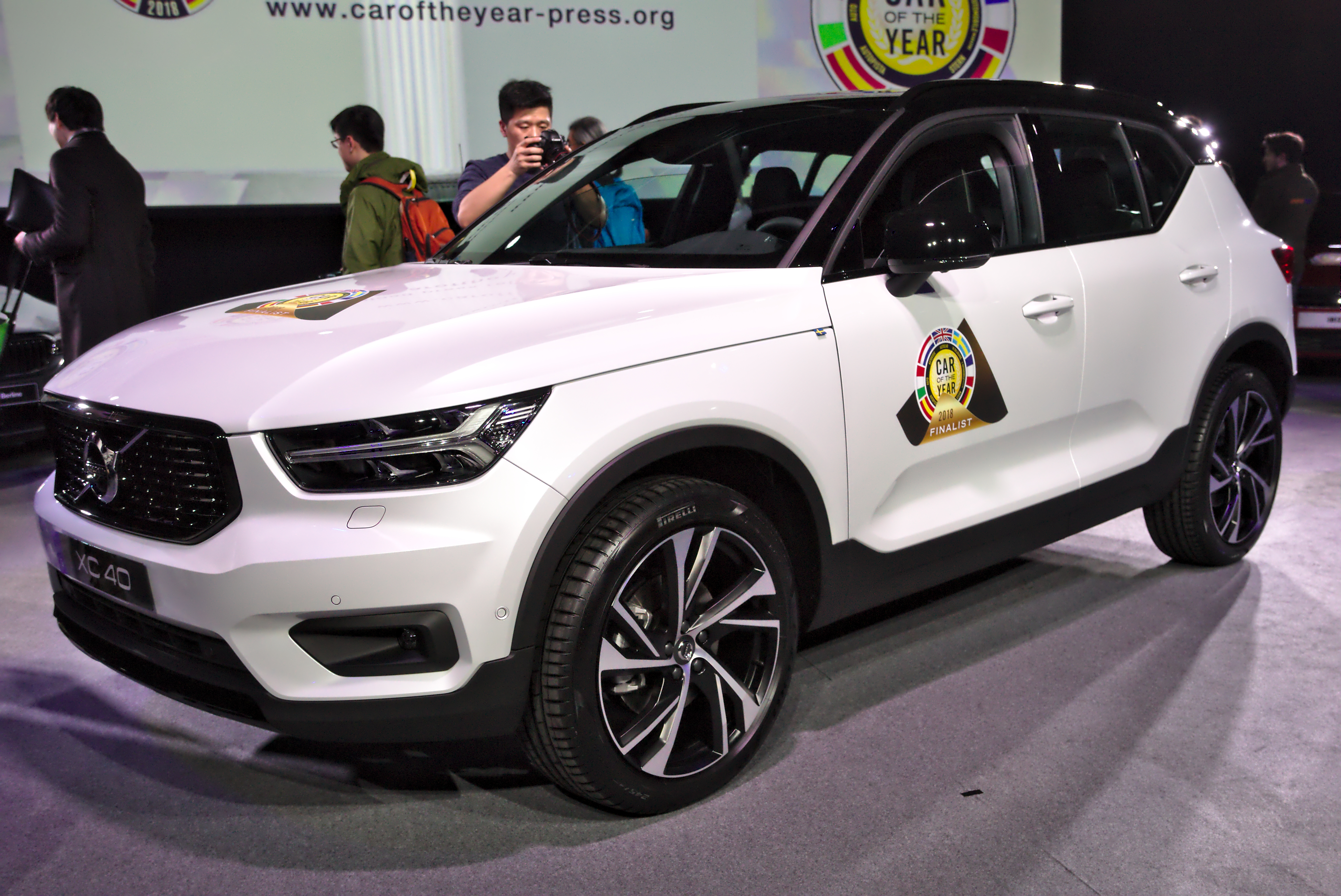 File Volvo Xc40 Car Of The Year Genf 2018 Jpg Wikimedia Commons