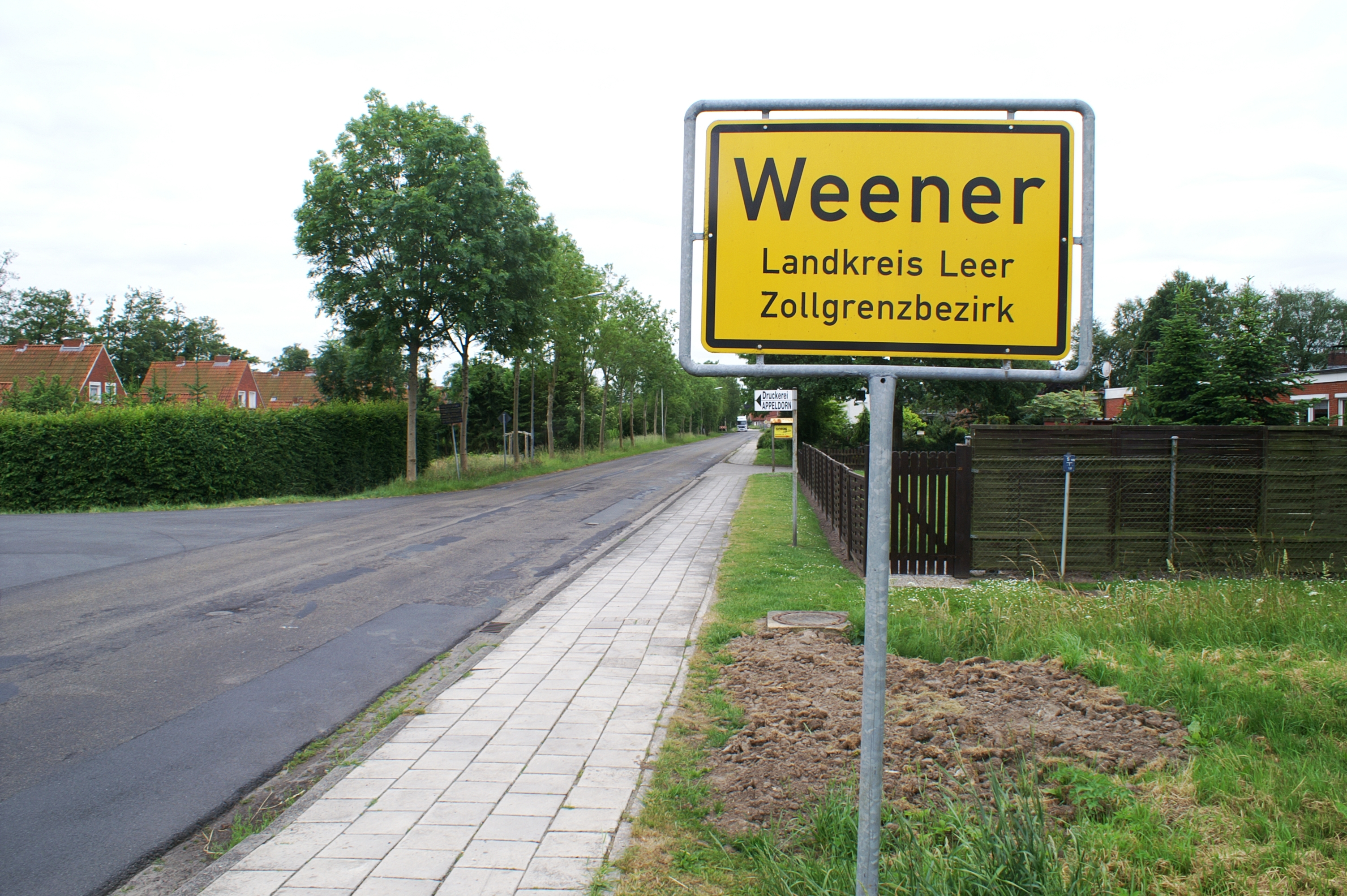 Single weener