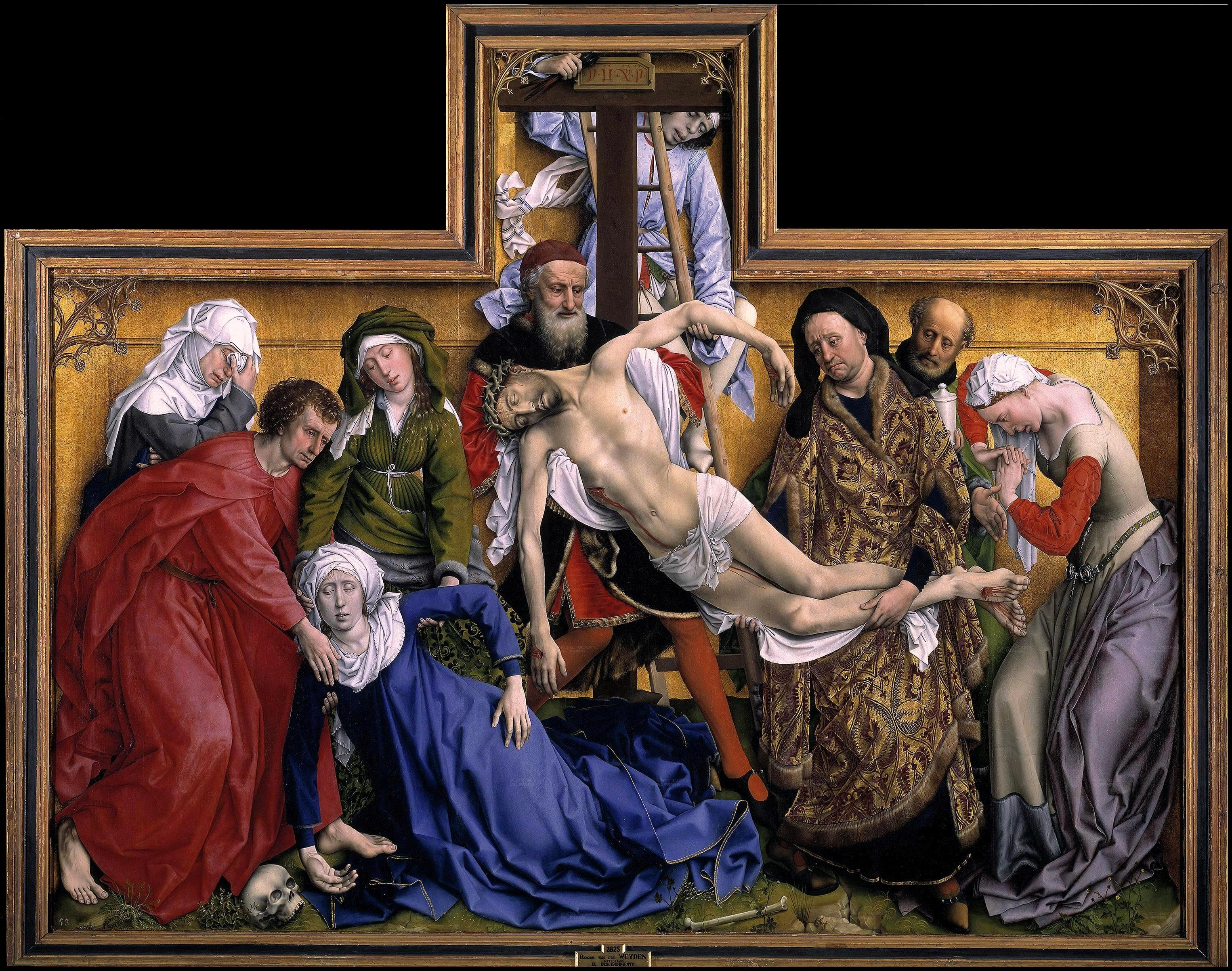 The Deposition Painting At The Toledo Museum Of Art French