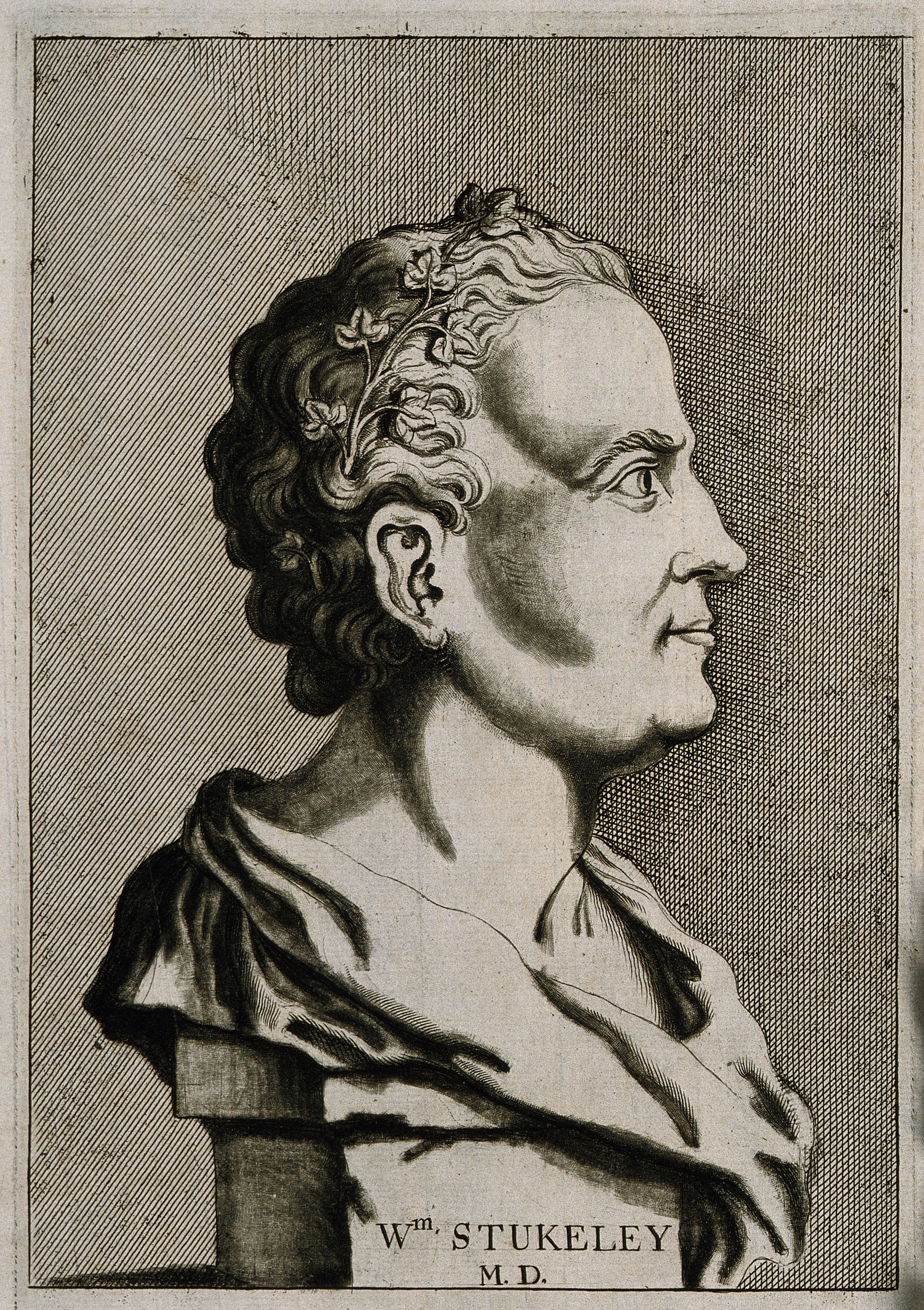 Line engraving, 1776, after I. Whood, 1727