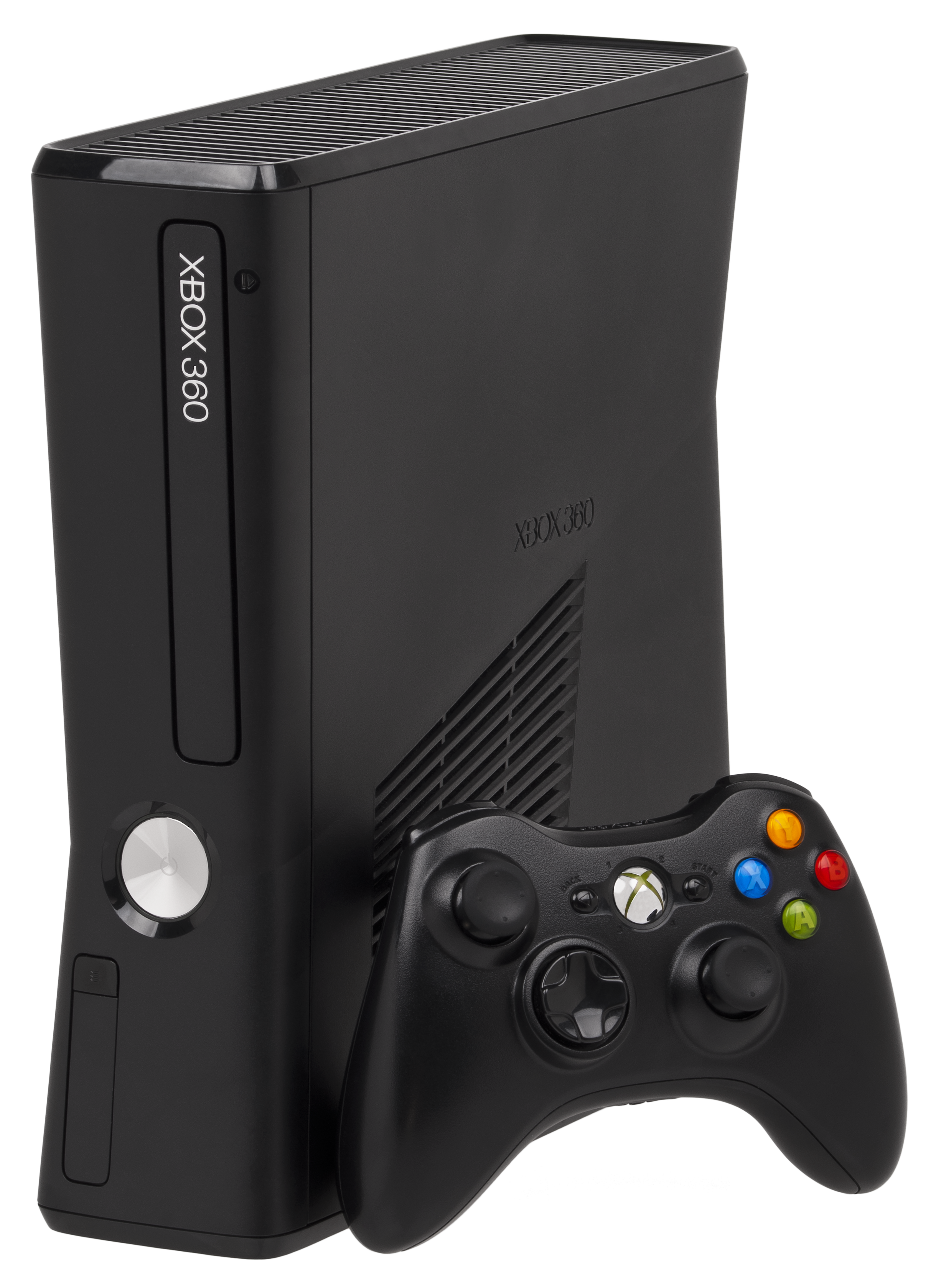 File xbox 360s console wikimedia commons for Console de jeux