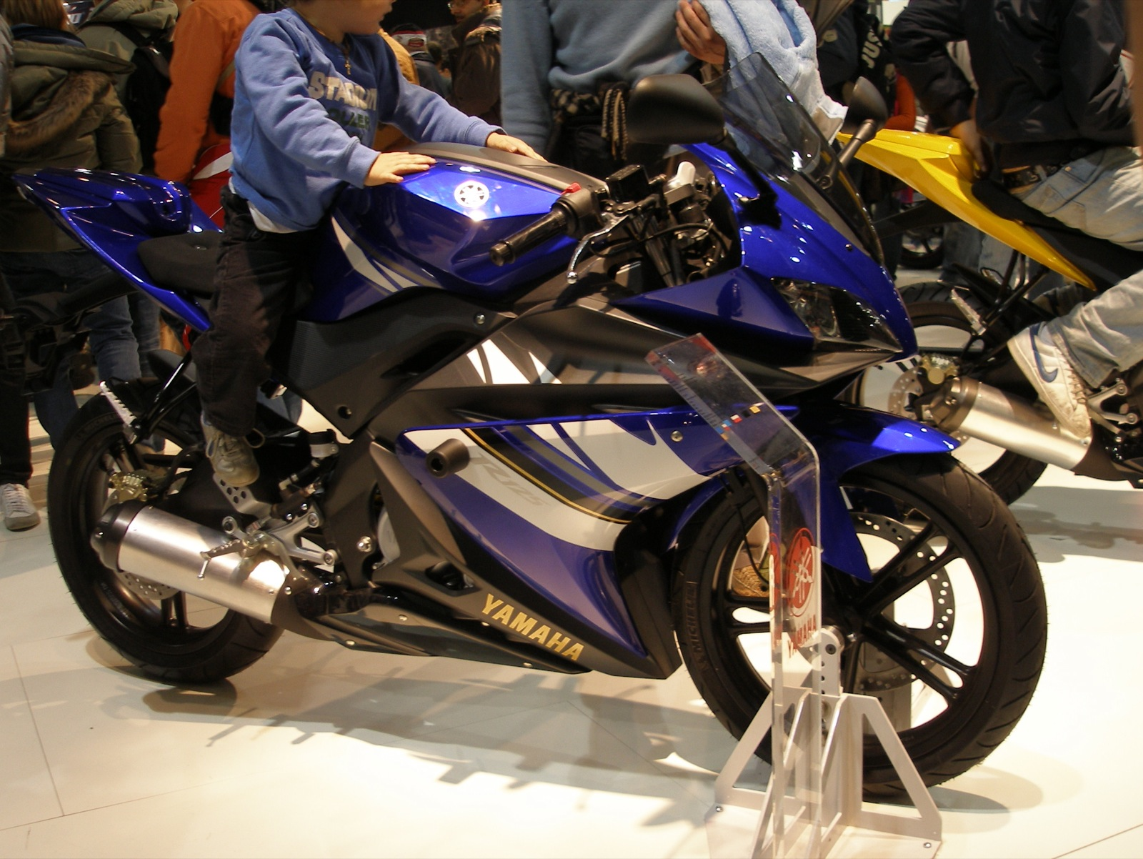 Come modificare yamaha r125