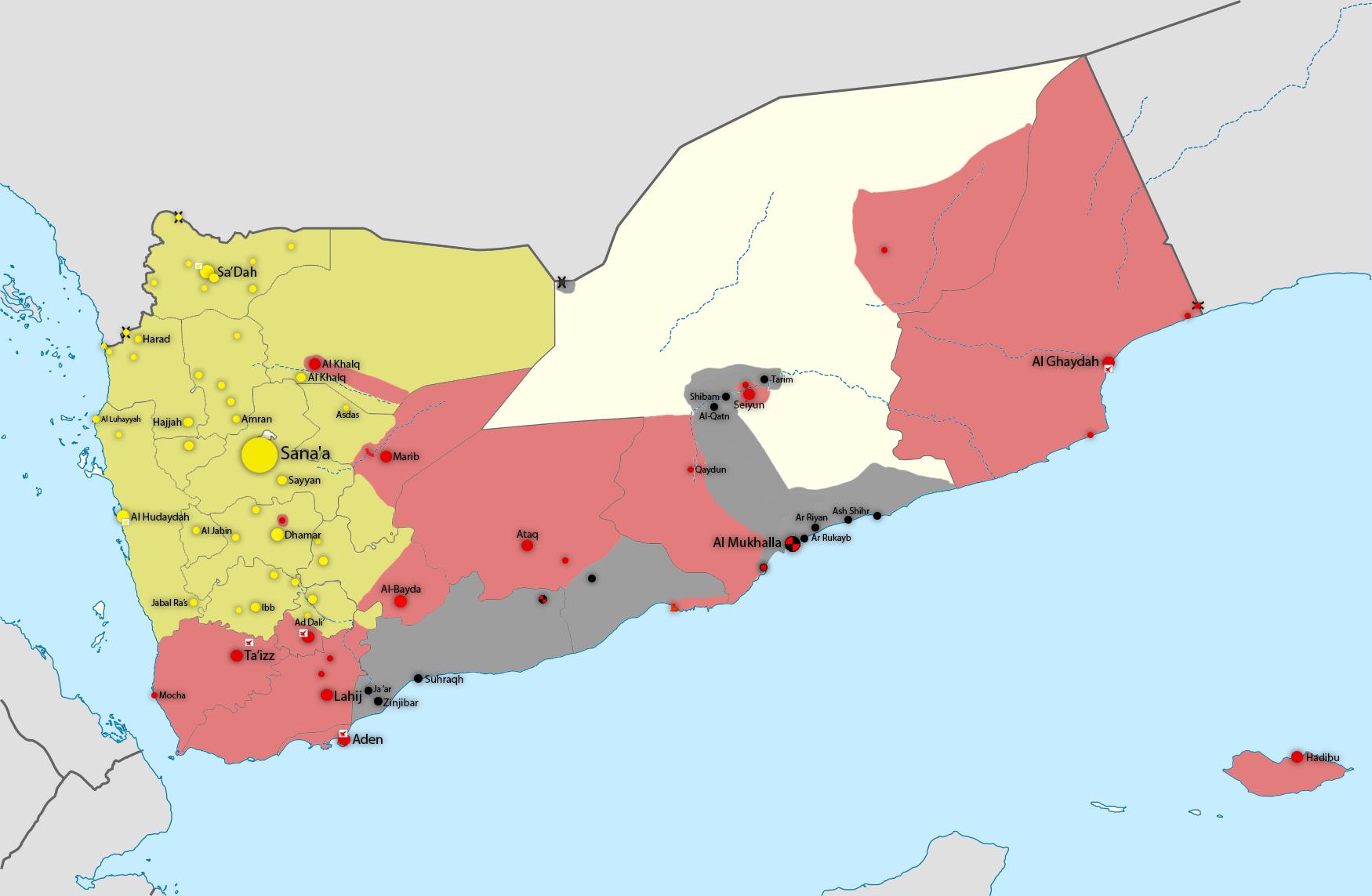 Datei:Yemen war detailed map (18 Jan 2015).png – Wikipedia on