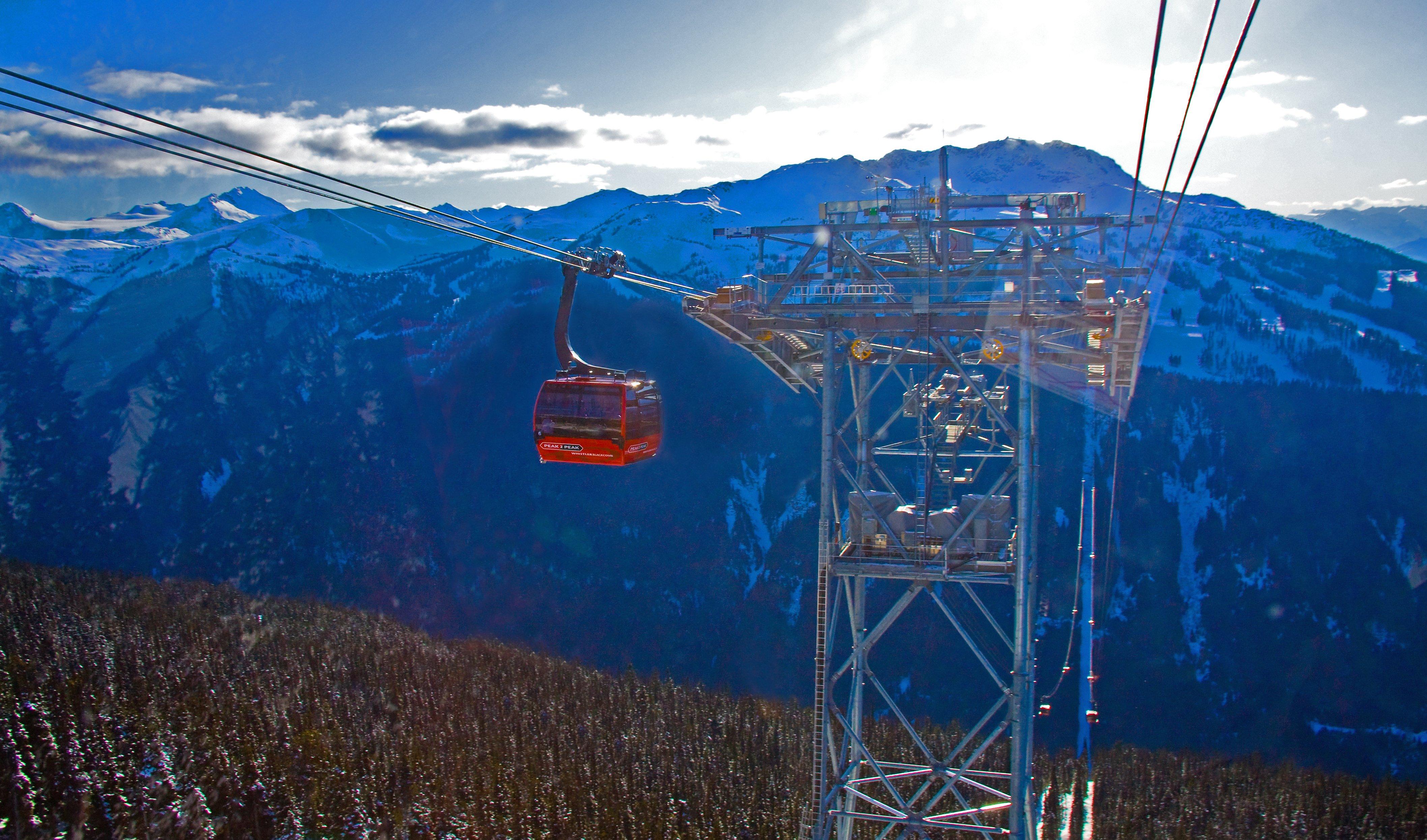 Peak to Peak Gondola Peak 2 Peak Gondola