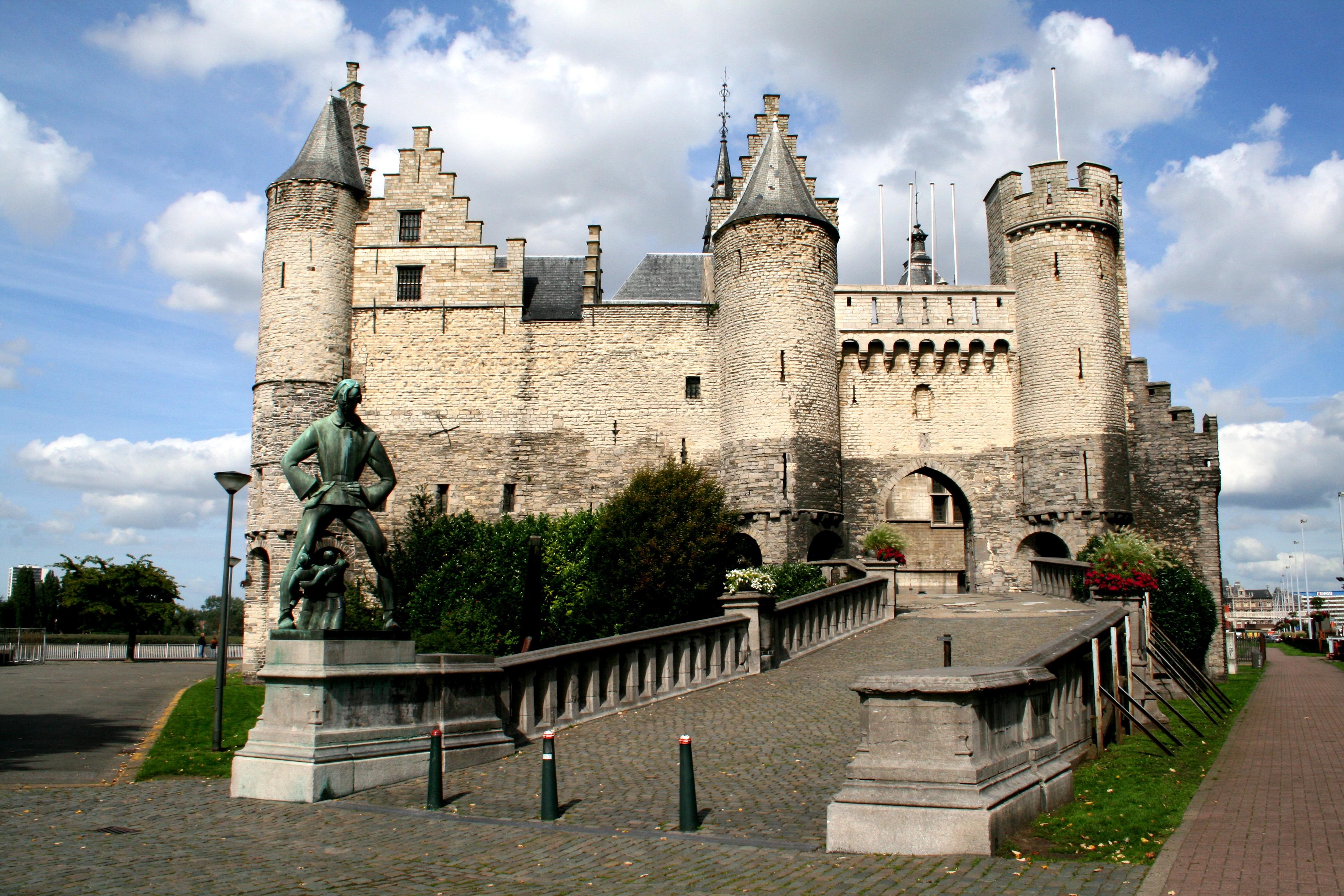 War of the worlds port house headquarters antwerp belgium by