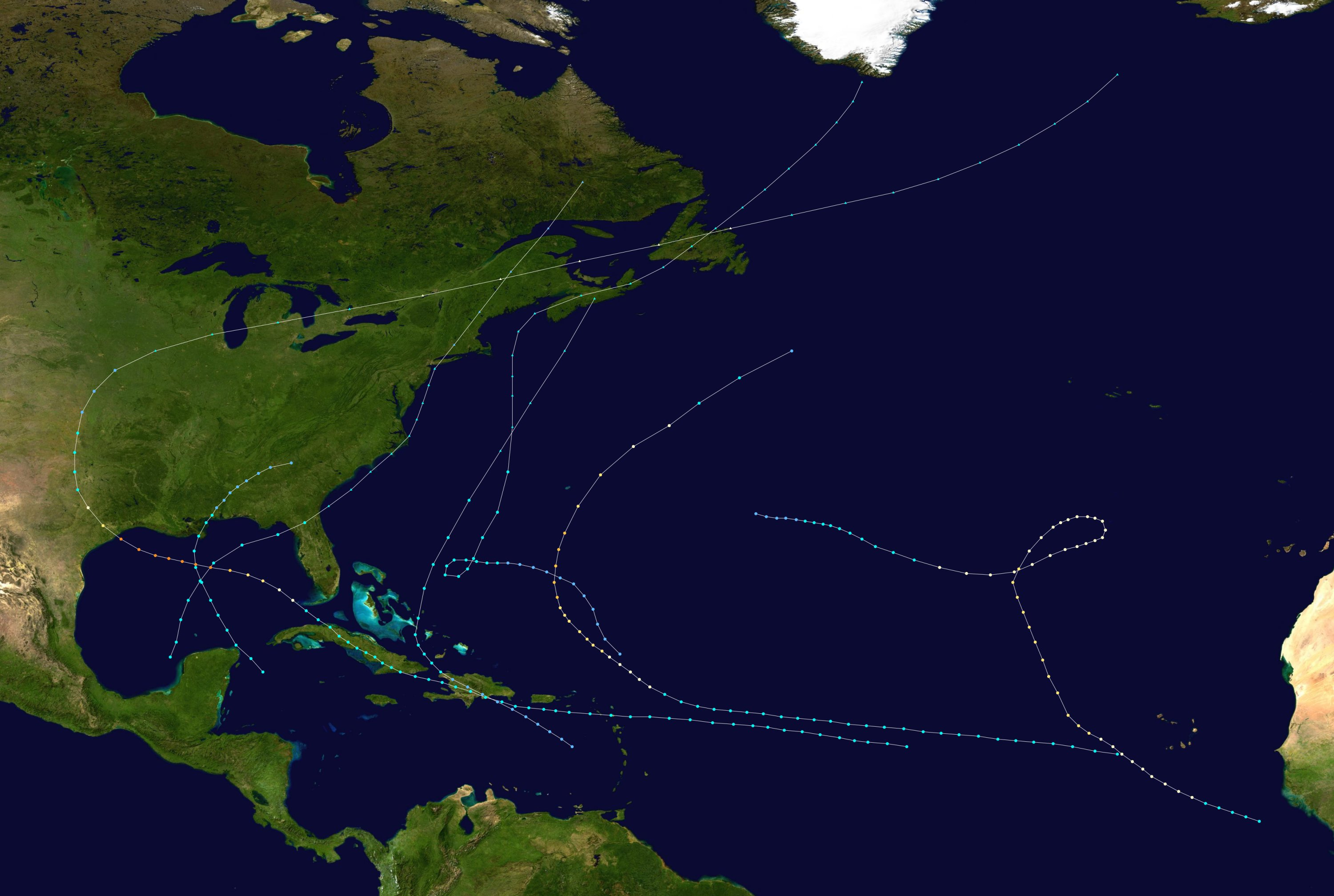 1900 Atlantic hurricane season