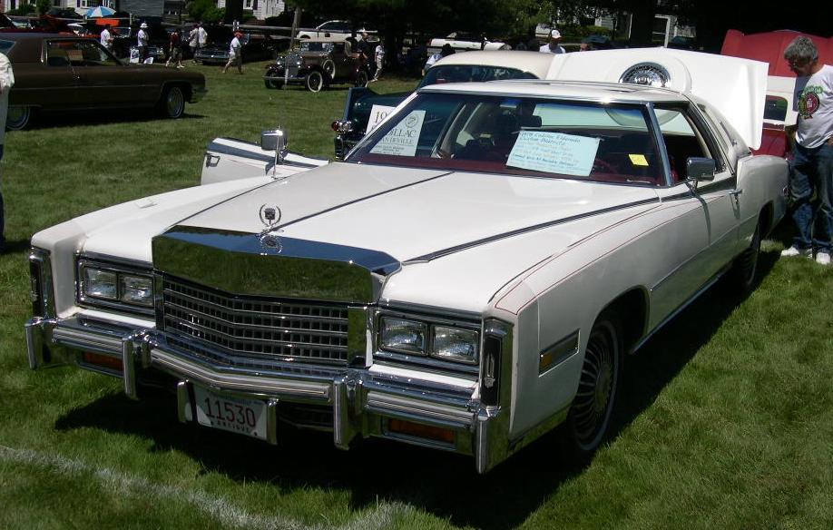 File 1976 Cadillac Eldorado Biarritz Jpg Wikipedia