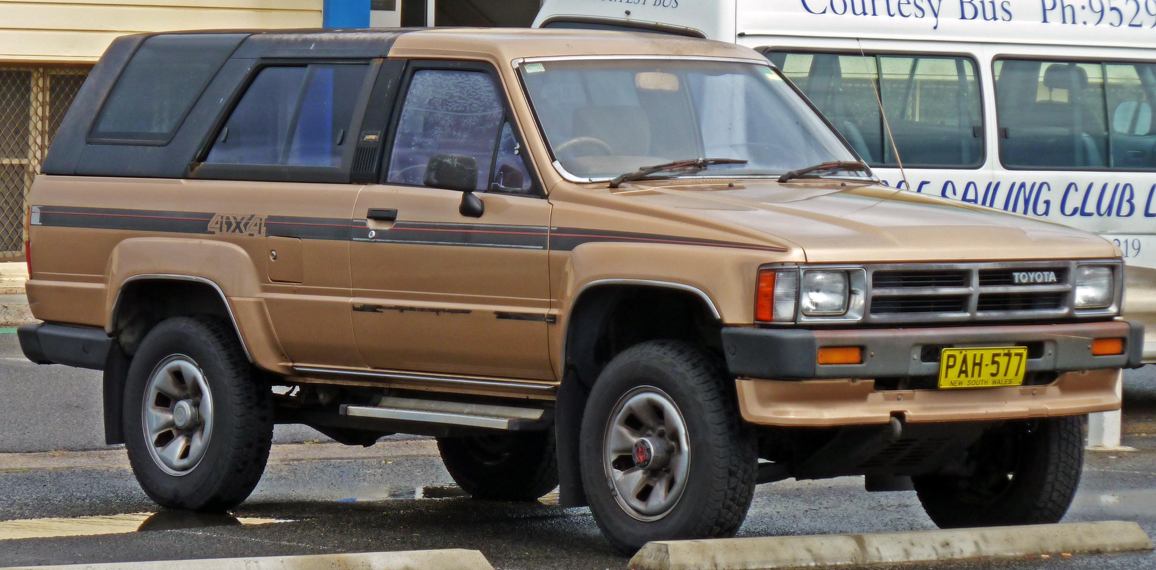 File 1987 1989 Toyota Hilux 4runner Sr5 Wagon 01 Jpg