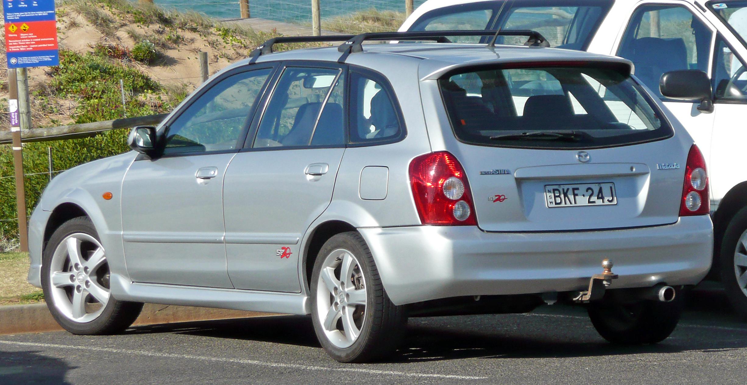 File 2002 2003 Mazda 323 Bj Series 2 Astina Sp20 5 Door