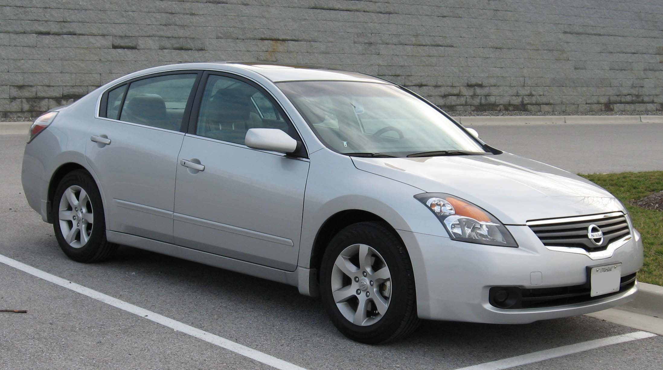 Nissan Altima 2.5 S >> File:2007-Nissan-Altima-2.5S-2.jpg - Wikimedia Commons