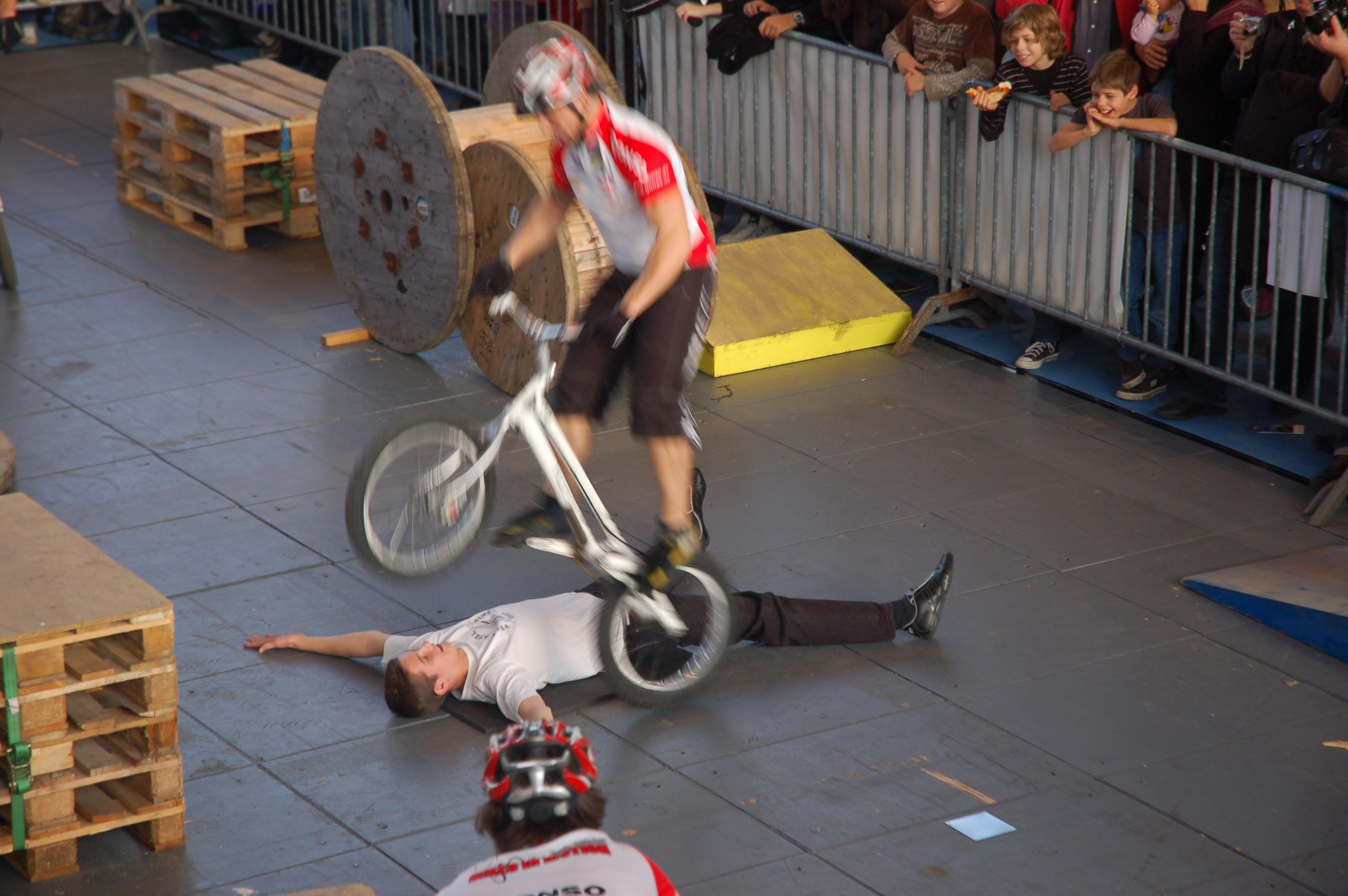 stunt fahrrad
