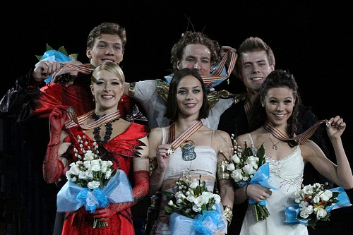 Elena Ilinykh / Nikita Katsalapov were the junior record holders of the eliminated original dance. At the time they were also the record holders of free dance and combined total scores.