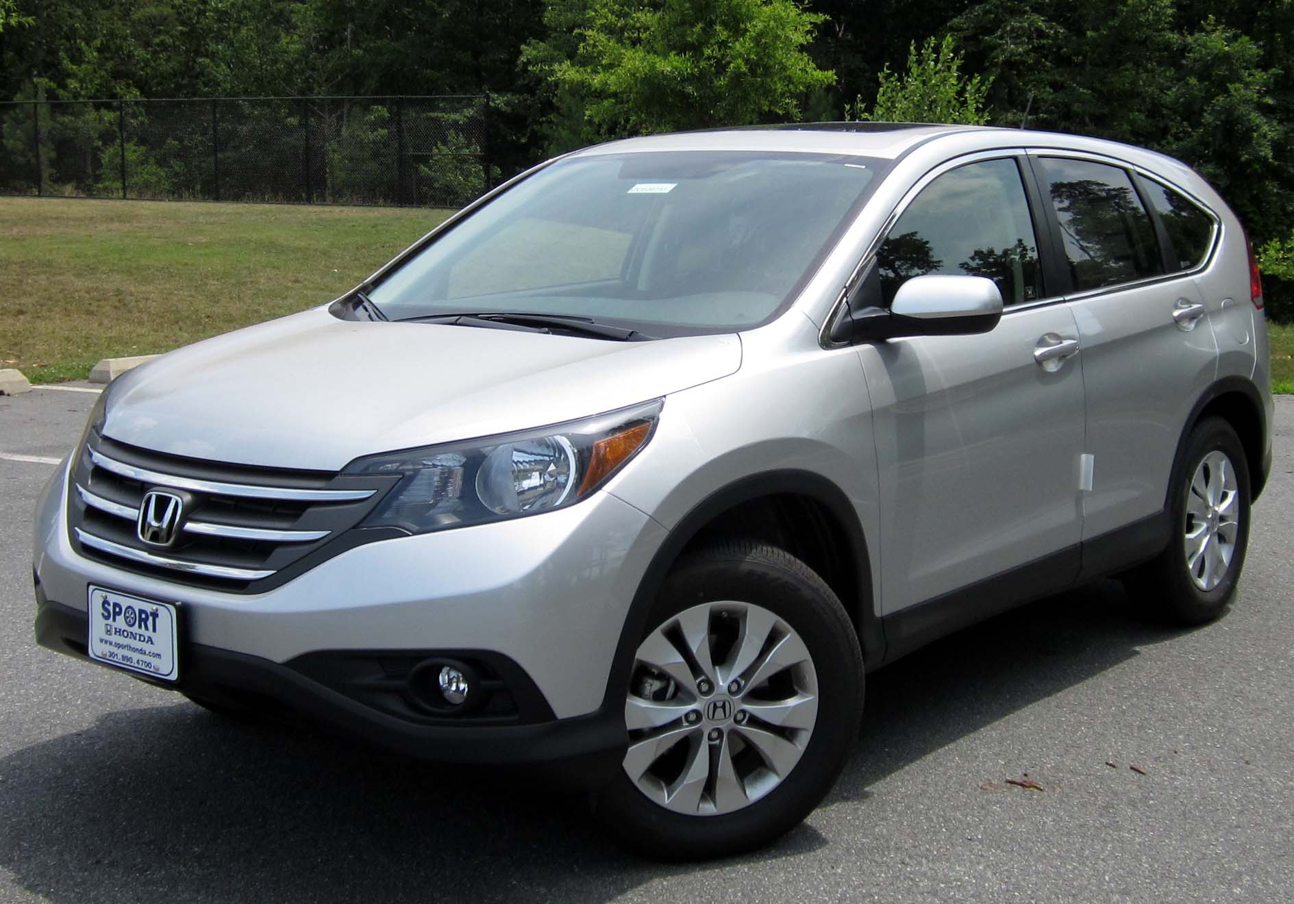 File:2012 Honda CR-V EX -- 07-11-2012 1.JPG - Wikimedia Commons