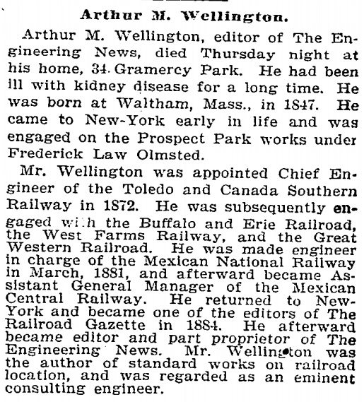 File:Arthur Mellen Wellington obituary in the New York Times
