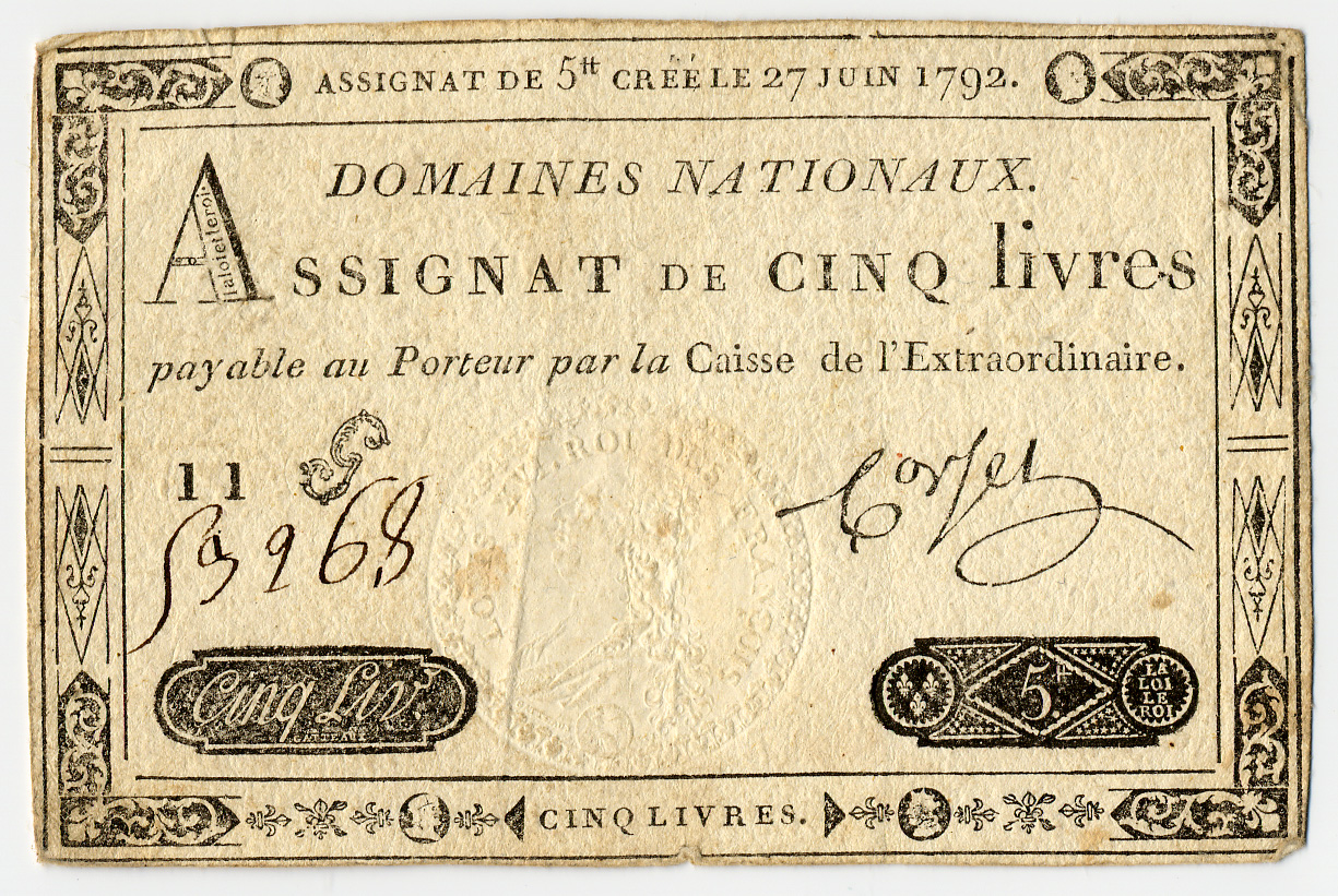 http://upload.wikimedia.org/wikipedia/commons/1/1b/Assignat_de_5_livres_(des_Domaines_nationaux).jpg