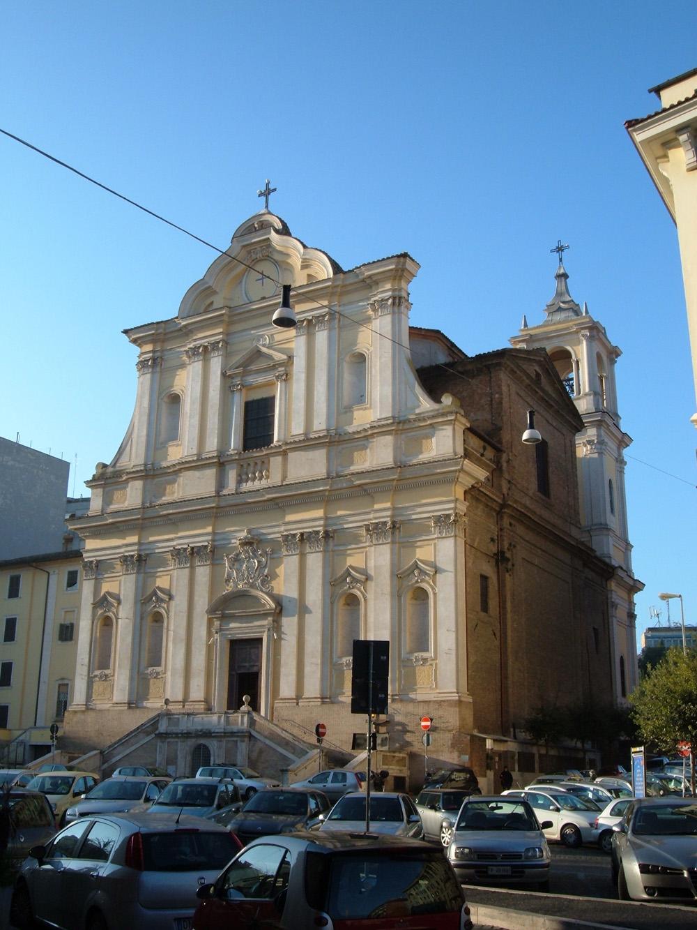 Chiesa di santa maria delle grazie alle fornaci wikipedia for Affitto roma porta di roma