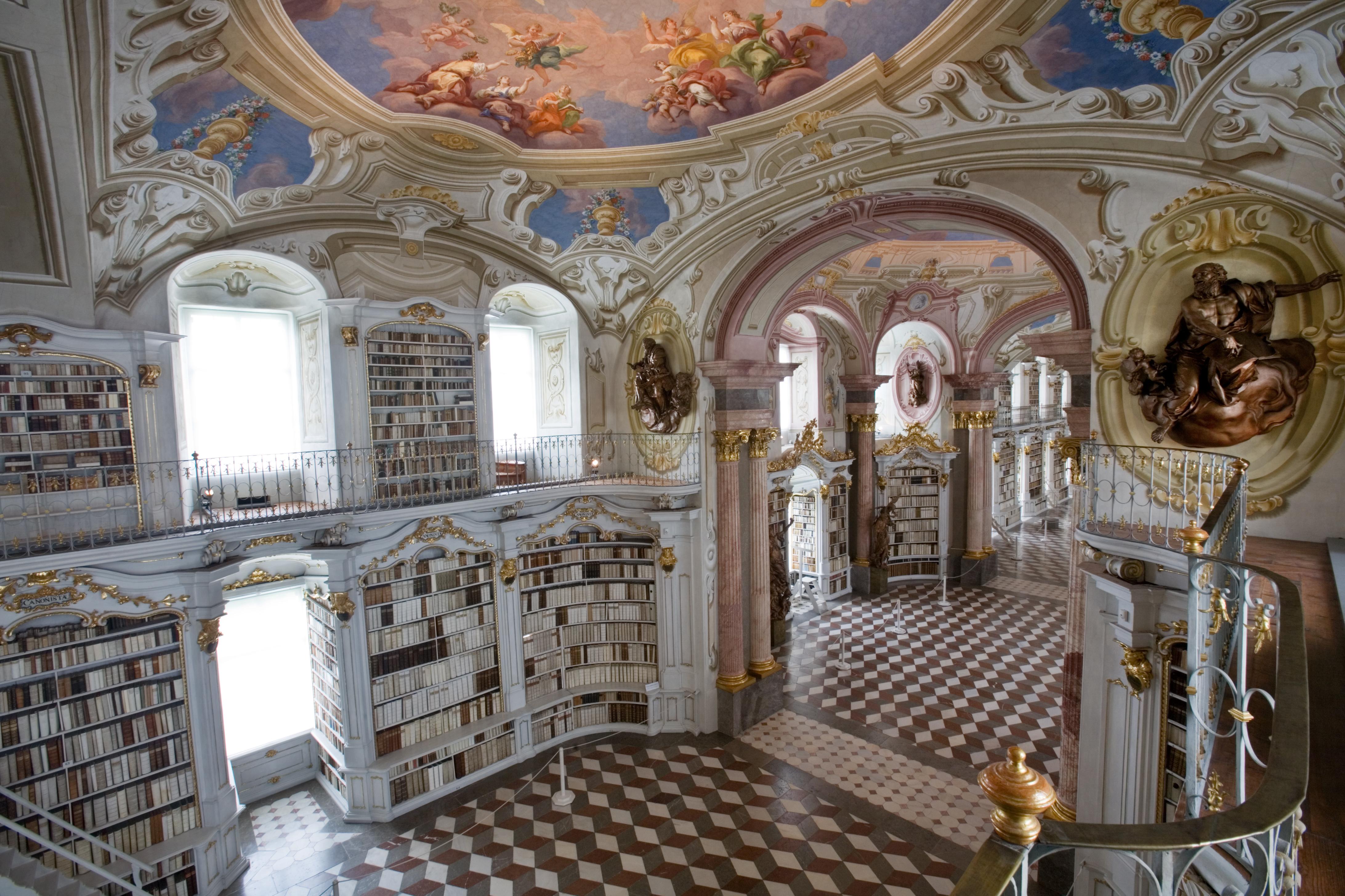 Admont Austria  City pictures : Austria Admont Abbey Library 1246 Wikimedia Commons