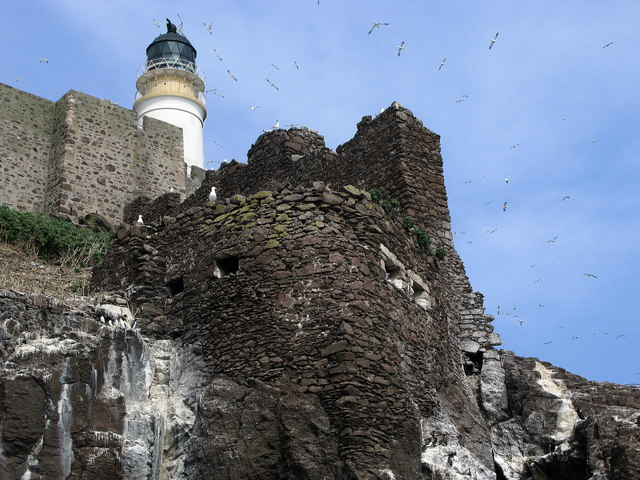 Bass Rock Castle – W...